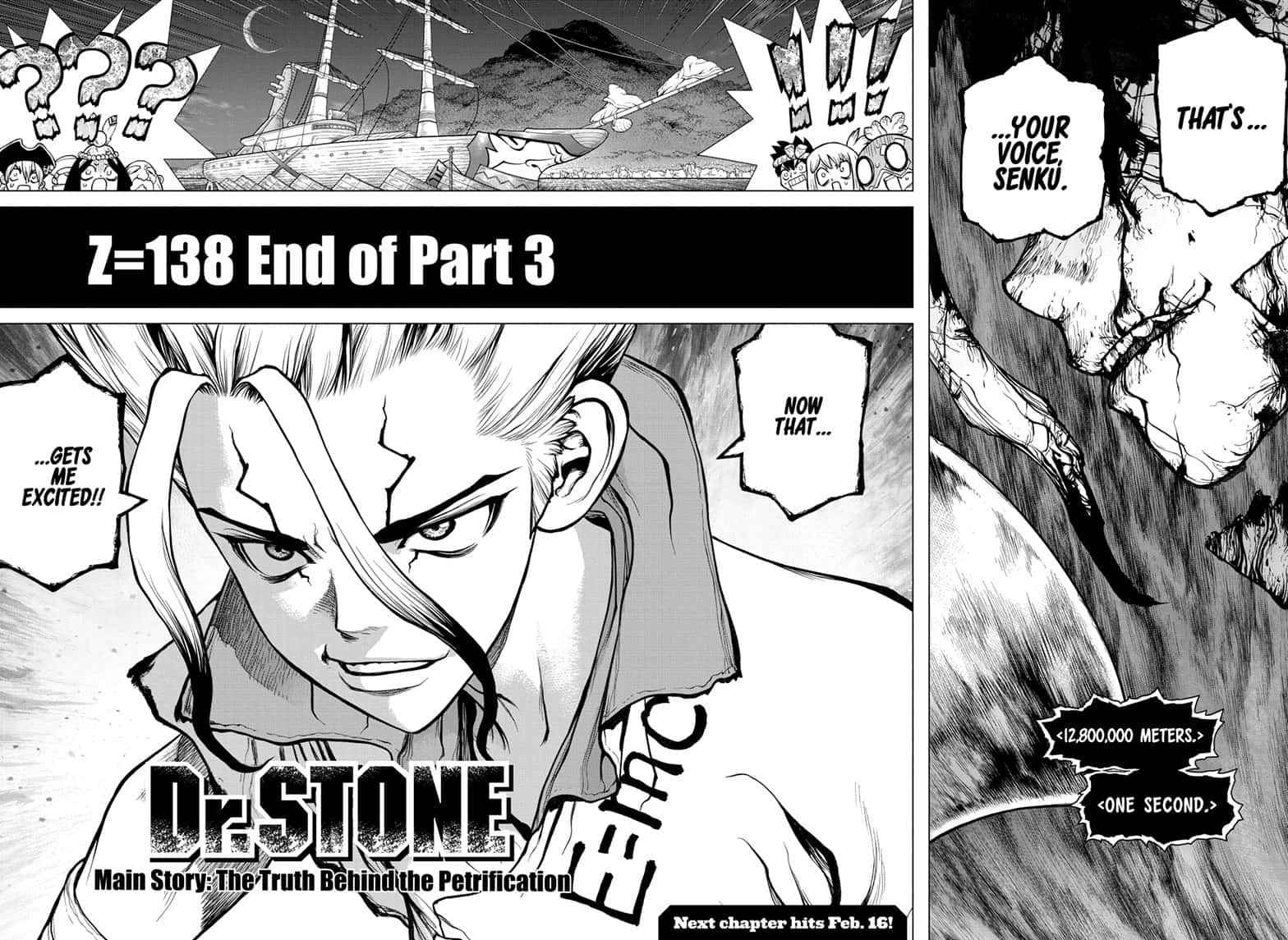 Dr. Stone Chapter 138 Page 17