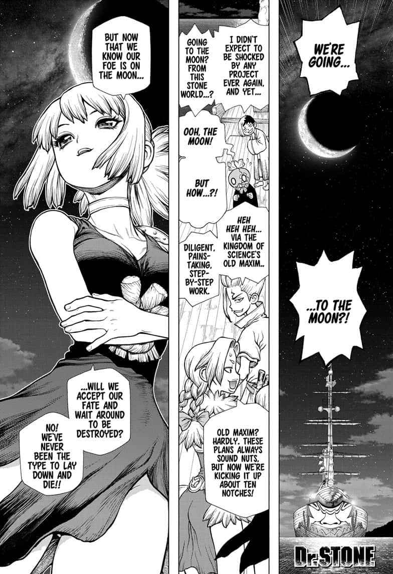 Dr. Stone Chapter 140 Page 1