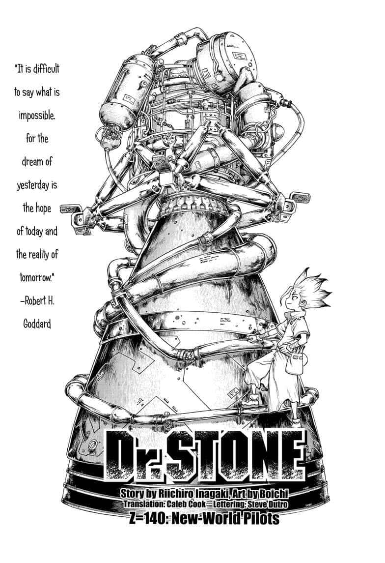 Dr. Stone Chapter 140 Page 3