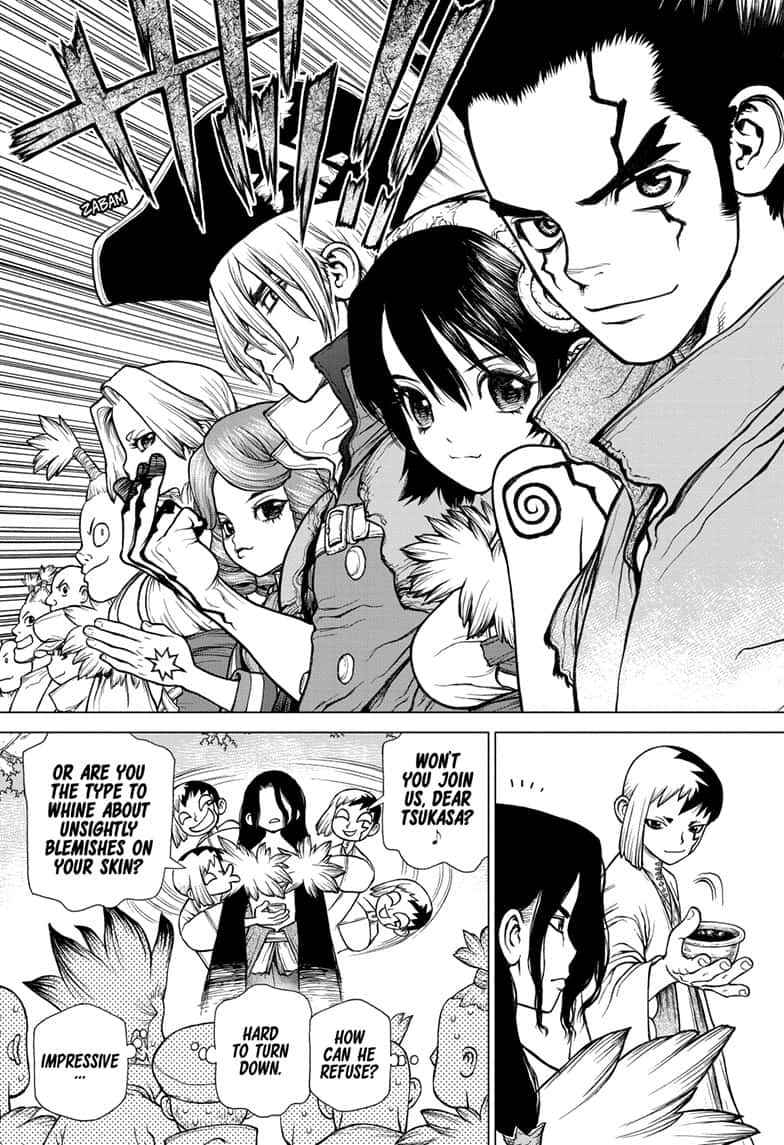 Dr. Stone Chapter 141 Page 17