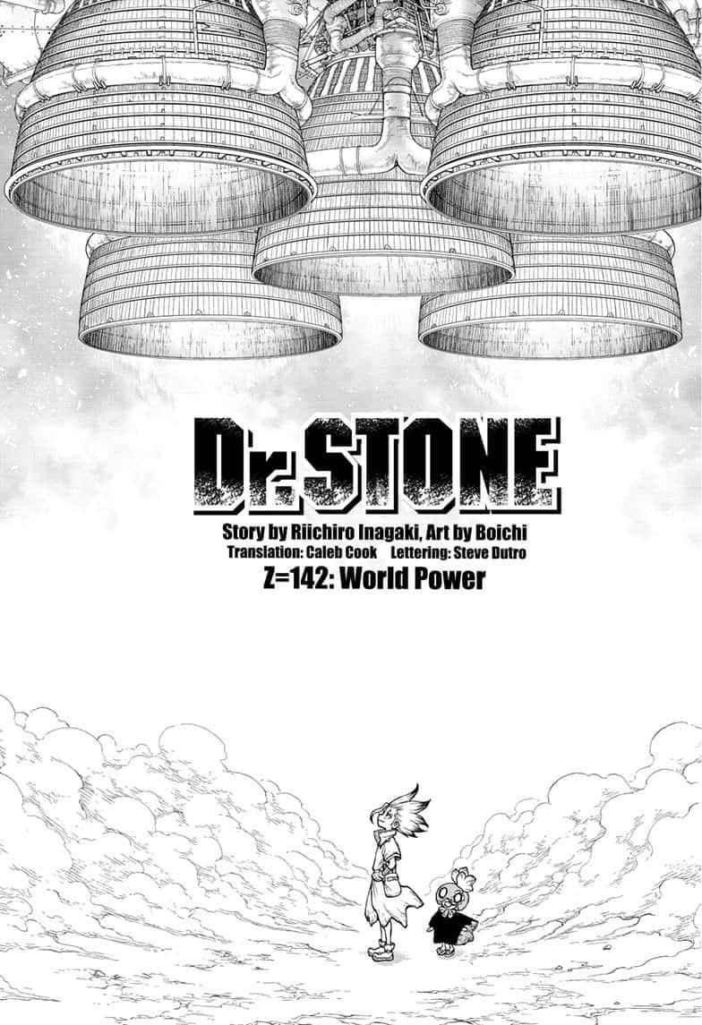 Dr. Stone Chapter 142 Page 1