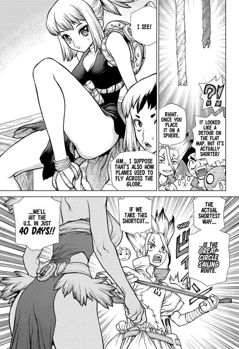 Dr. Stone Chapter 143 Page 9