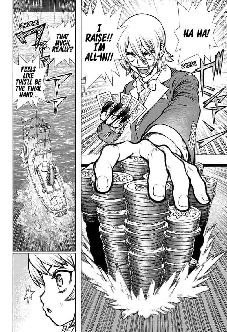 Dr. Stone Chapter 144 Page 10