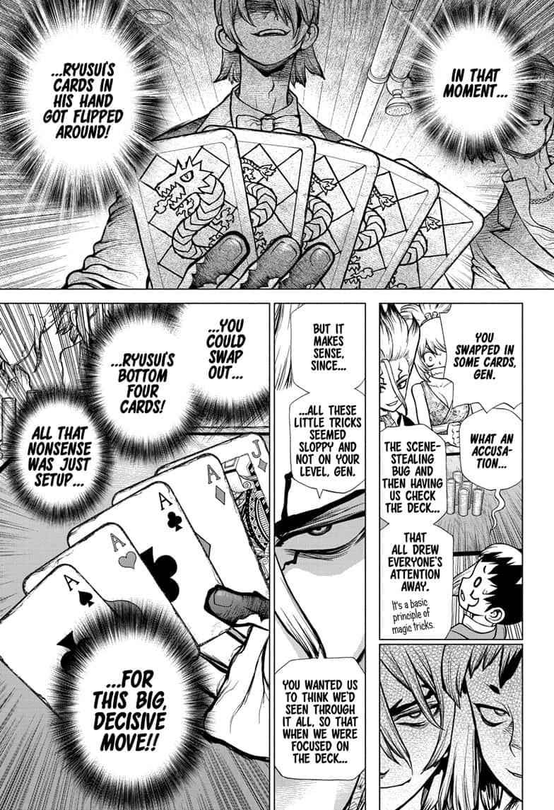 Dr. Stone Chapter 144 Page 11