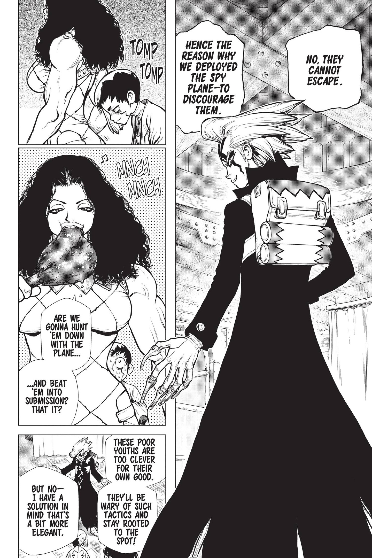 Dr. Stone Chapter 153 Page 10