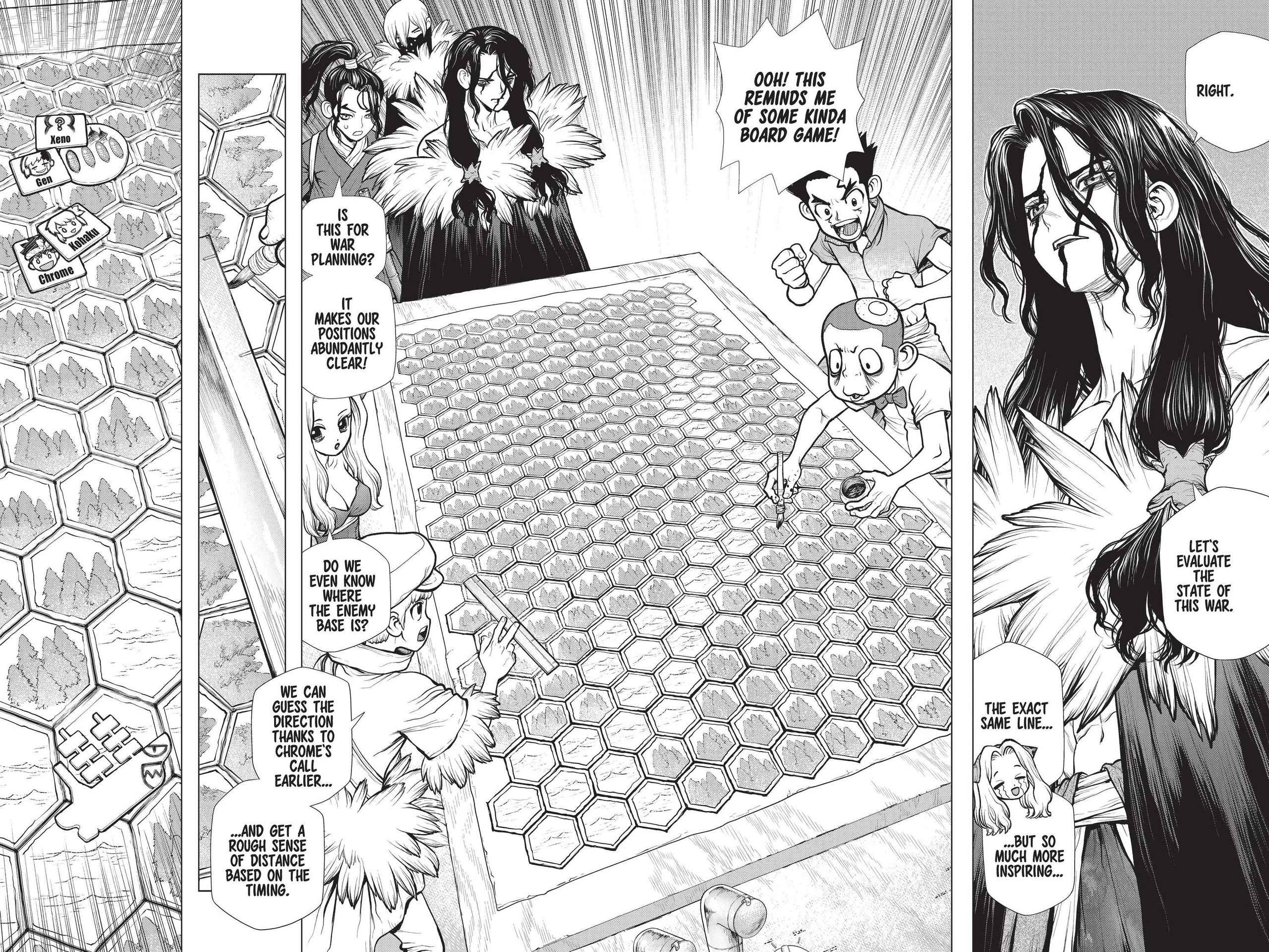 Dr. Stone Chapter 153 Page 4