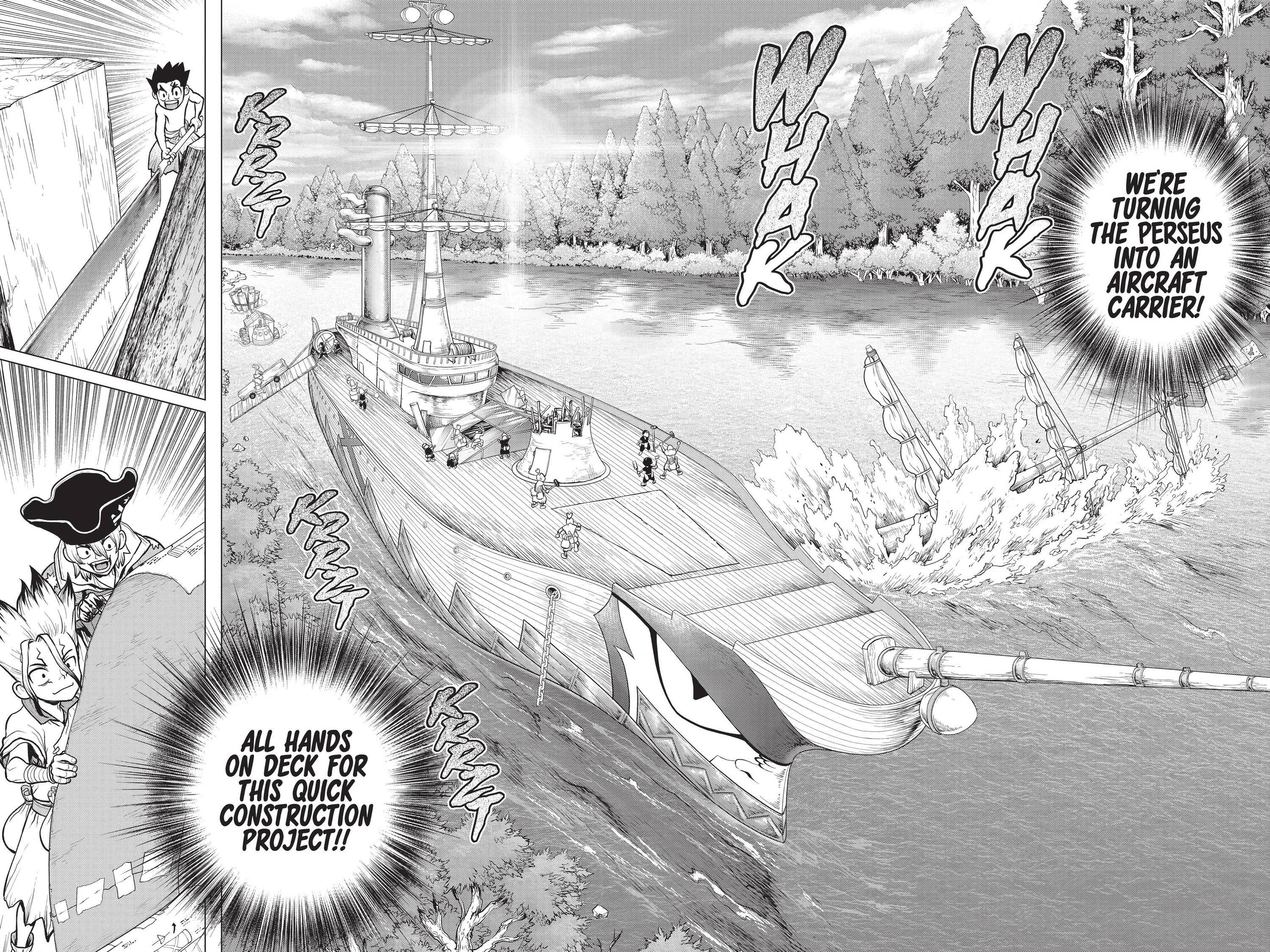 Dr. Stone Chapter 153 Page 7