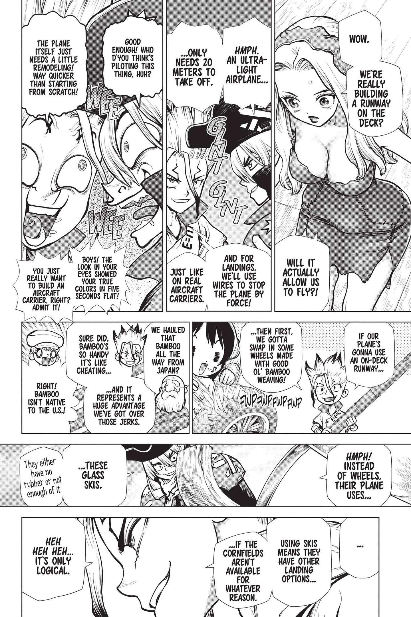 Dr. Stone Chapter 153 Page 8