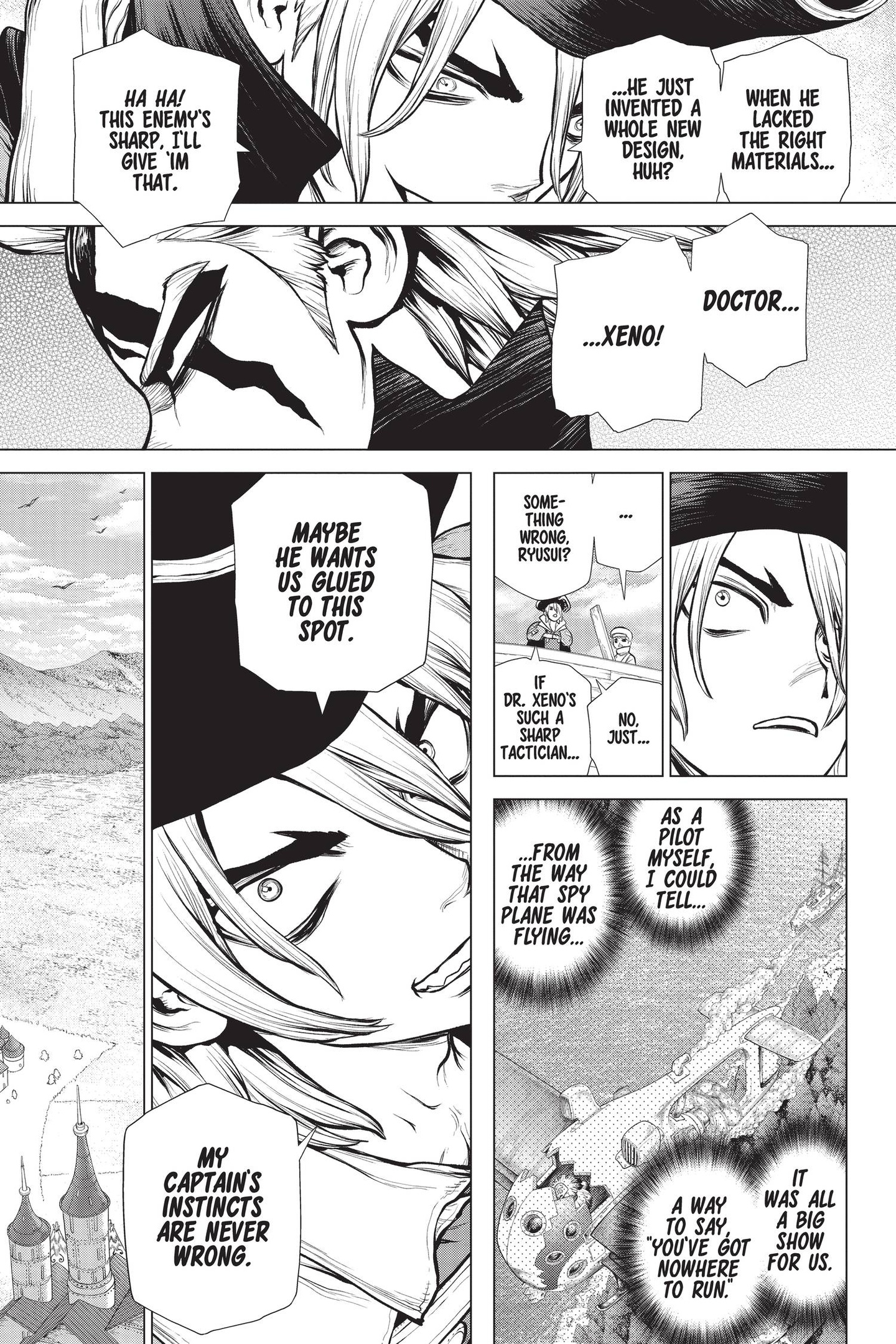 Dr. Stone Chapter 153 Page 9