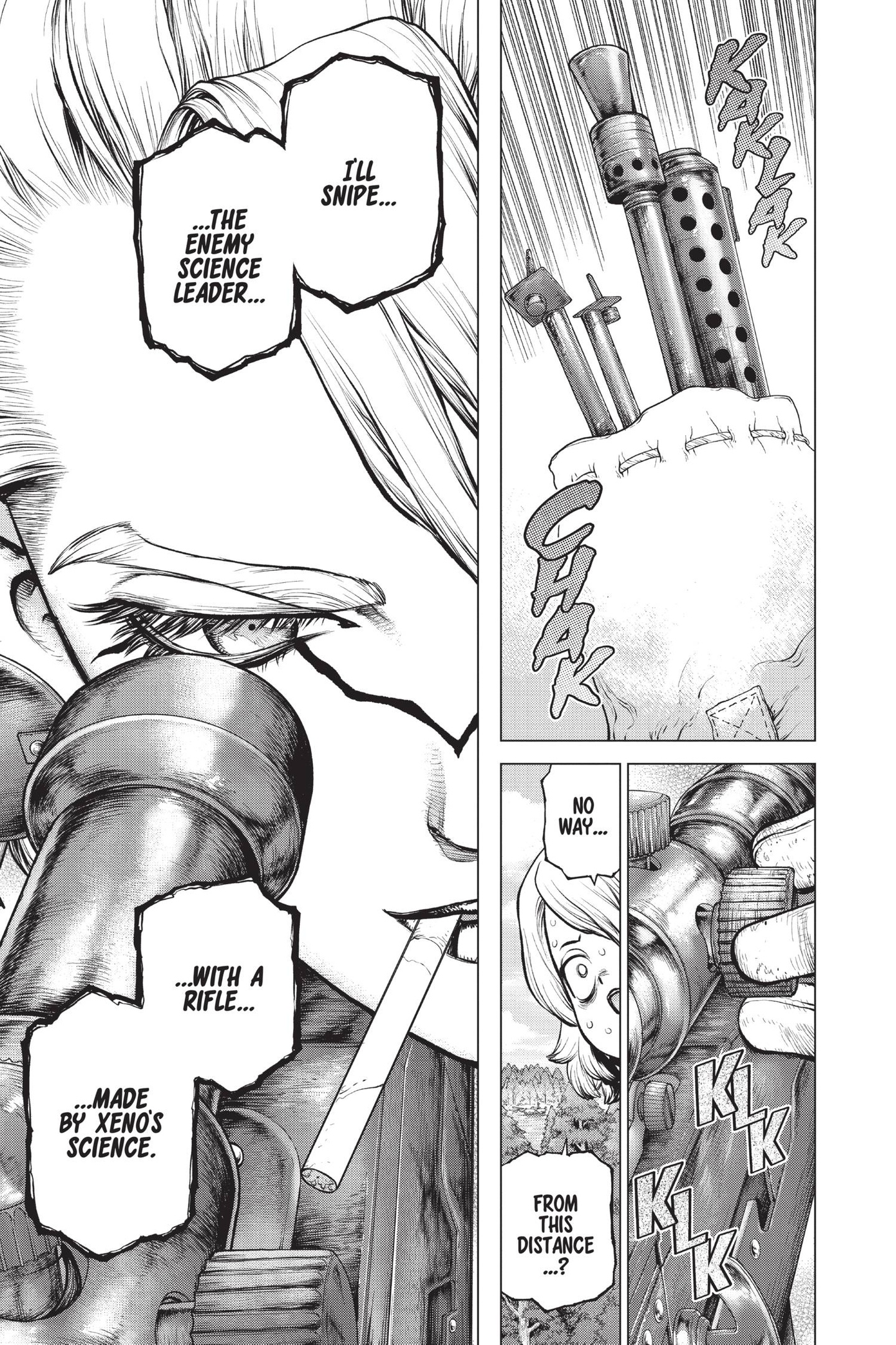 Dr. Stone Chapter 154 Page 7