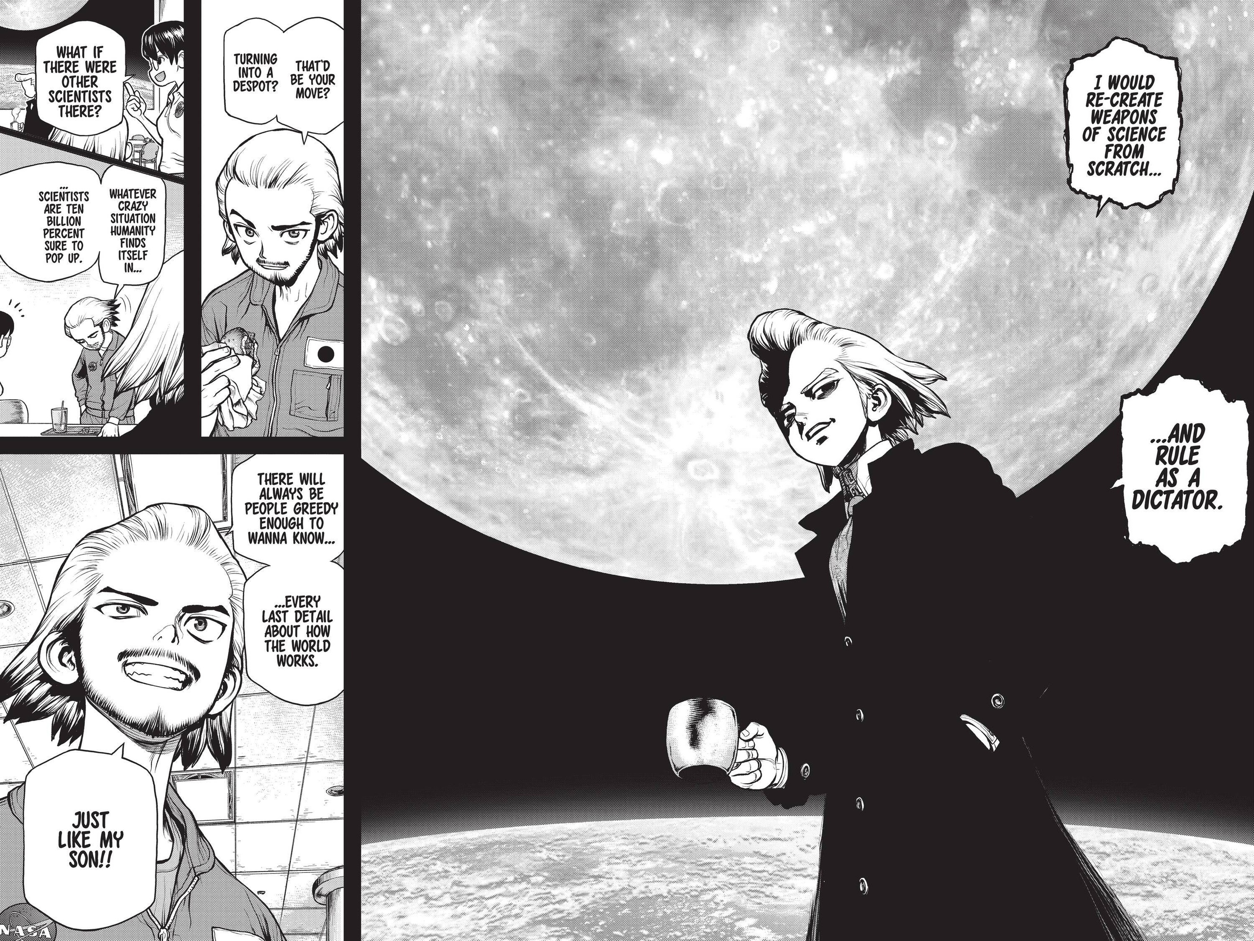 Dr. Stone Chapter 156 Page 14