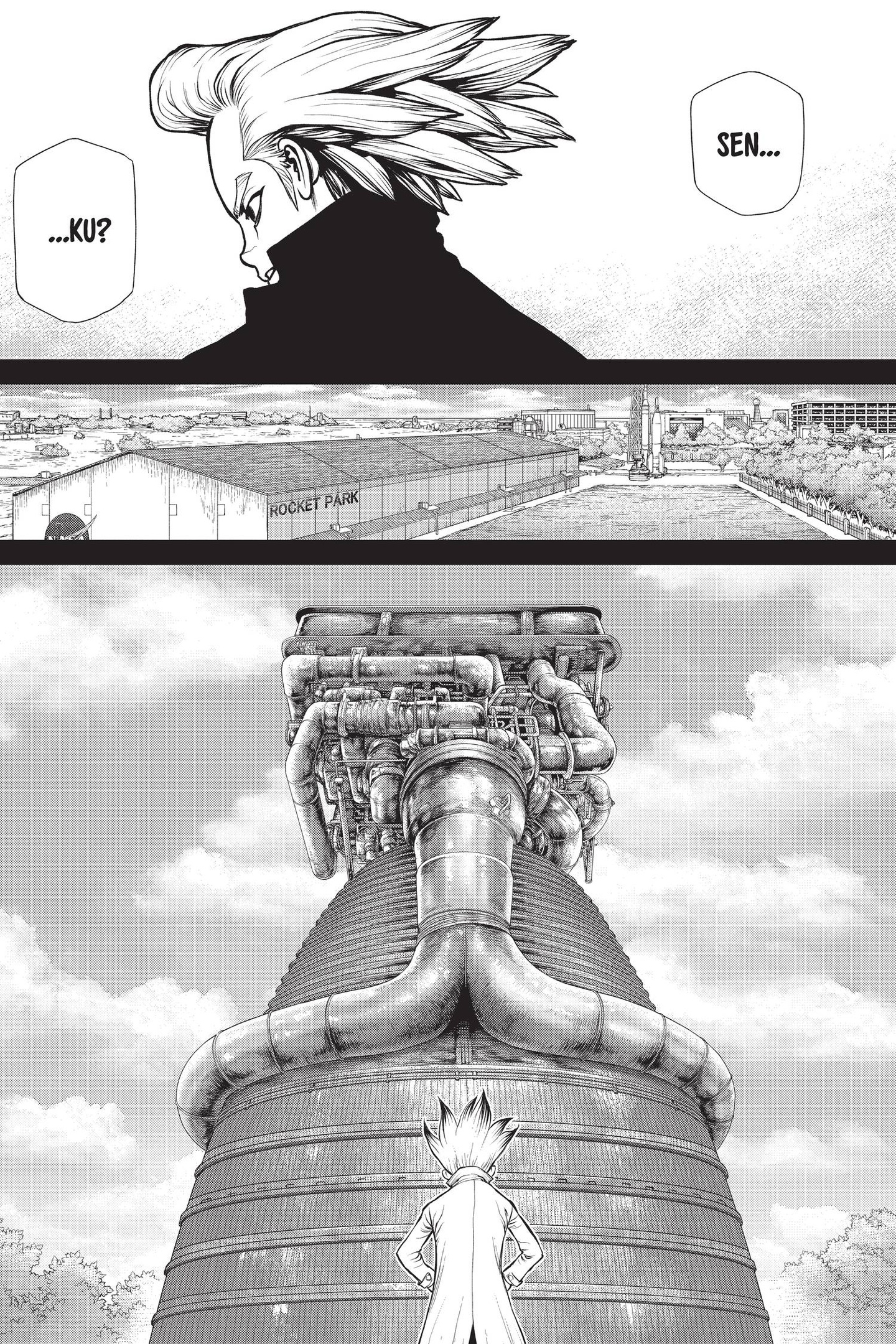 Dr. Stone Chapter 156 Page 17