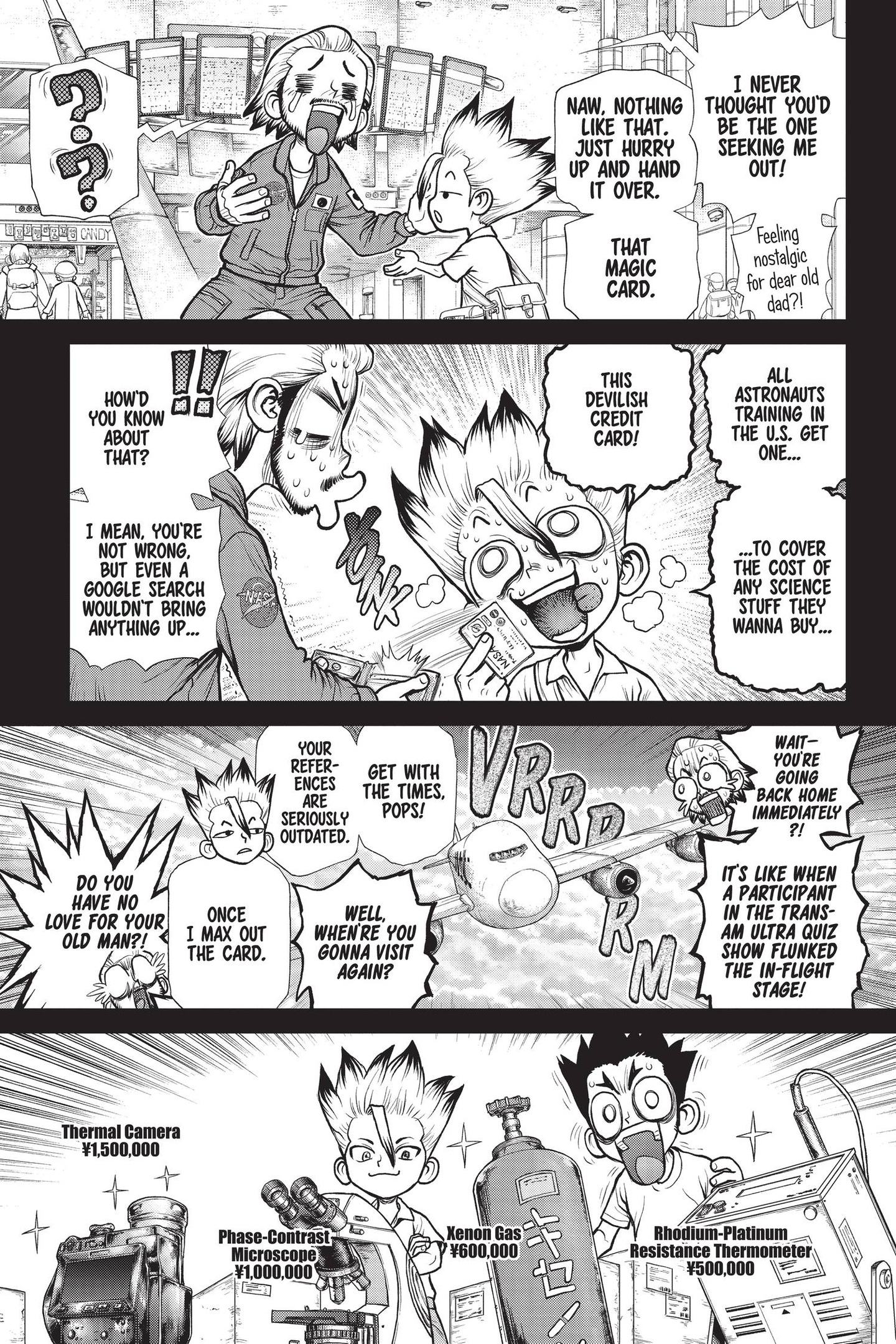 Dr. Stone Chapter 156 Page 9