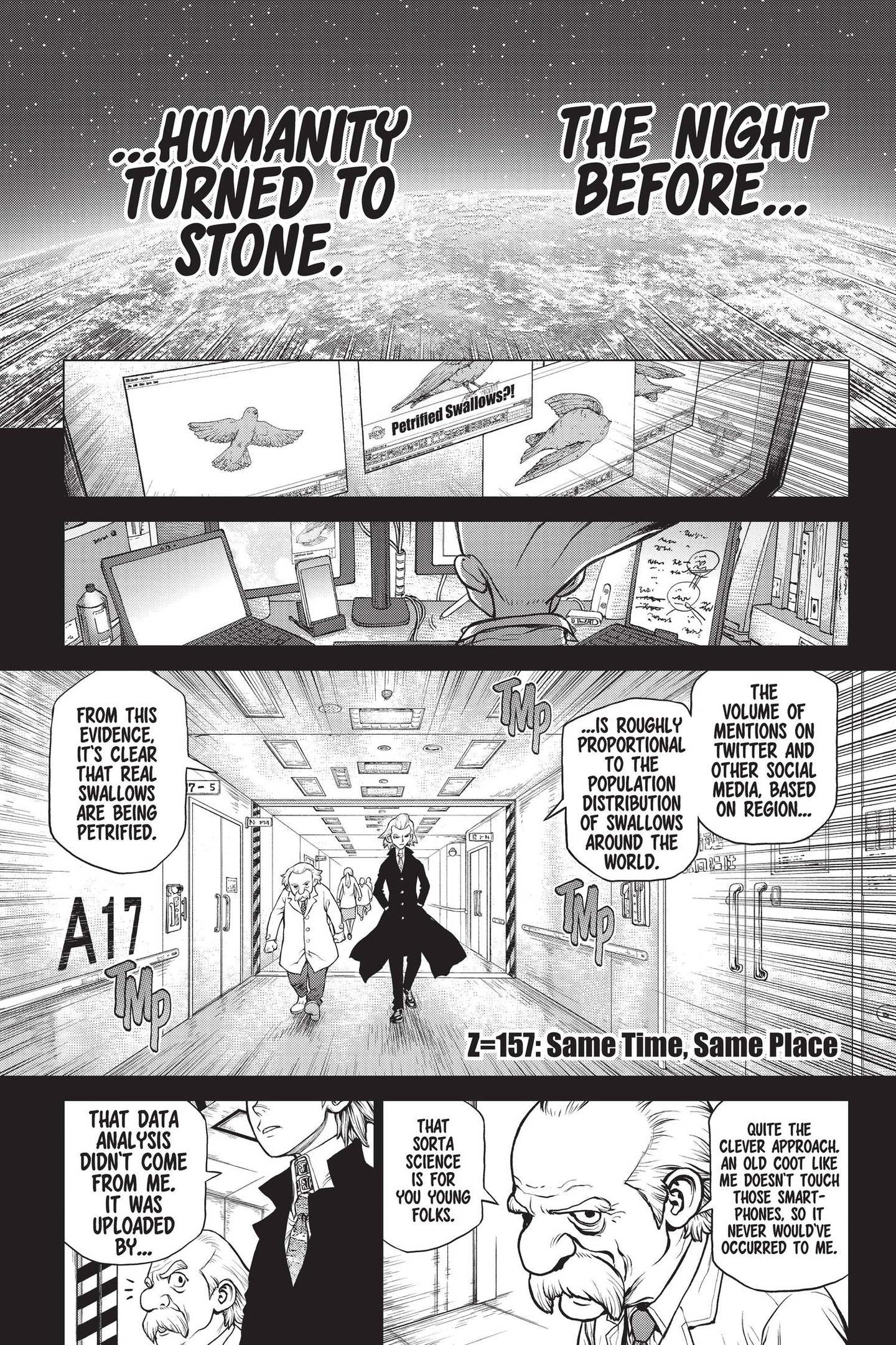 Dr. Stone Chapter 157 Page 1