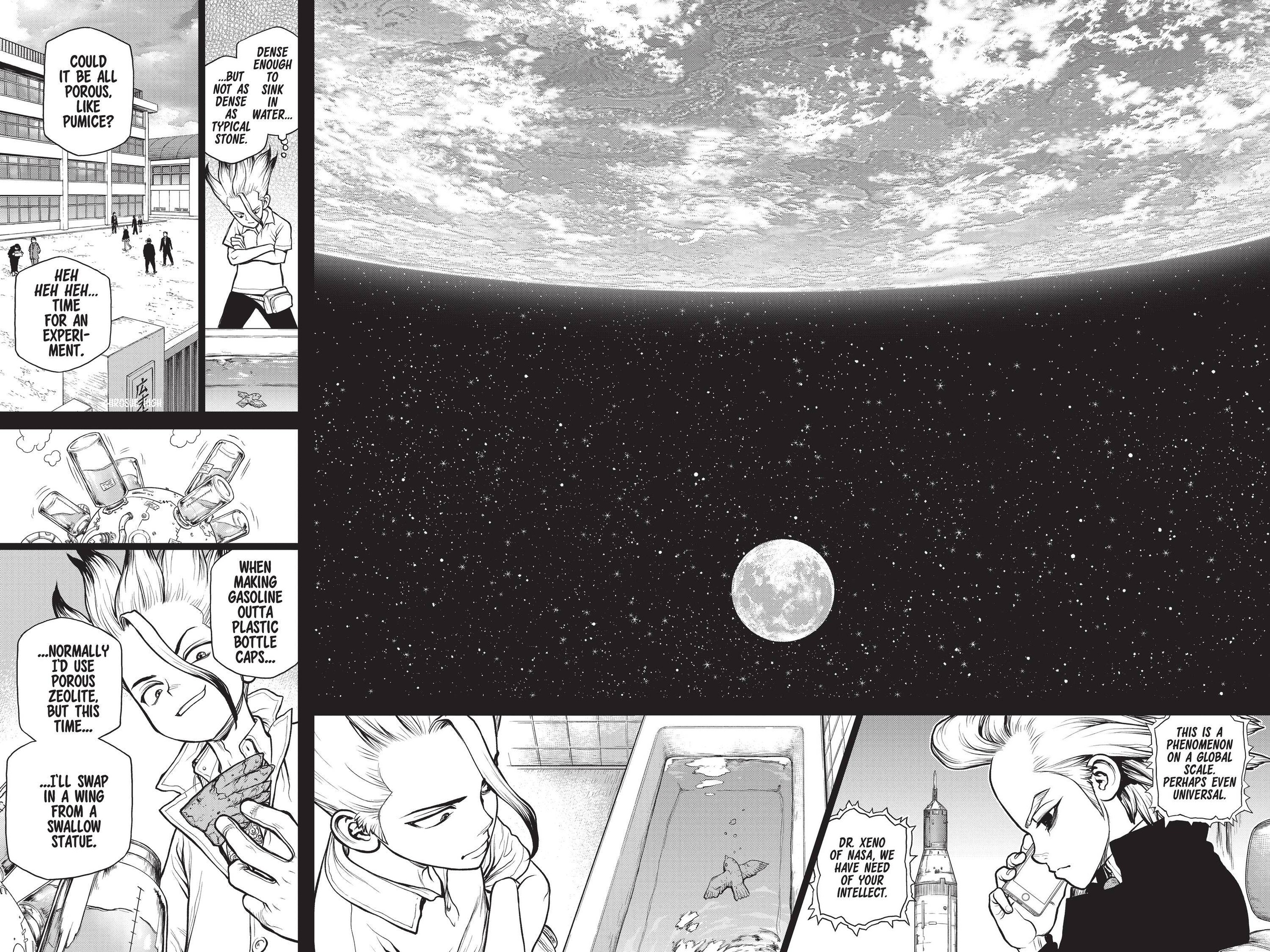 Dr. Stone Chapter 157 Page 4