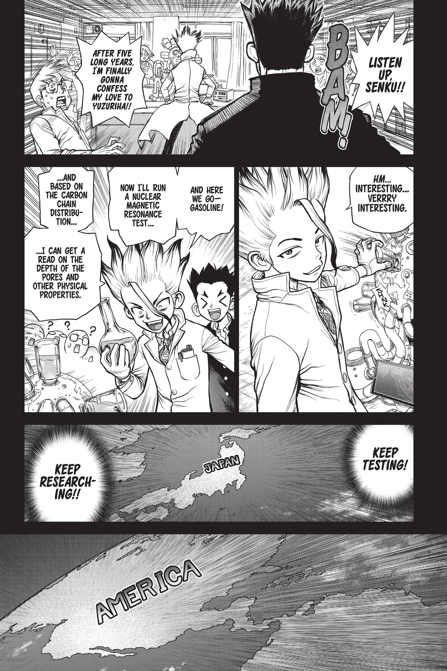 Dr. Stone Chapter 157 Page 5