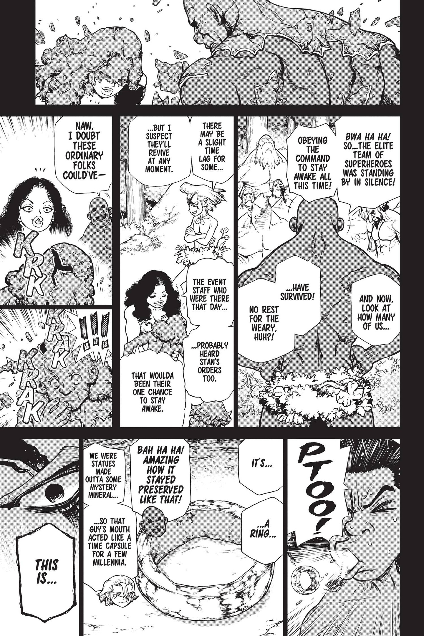 Dr. Stone Chapter 158 Page 3