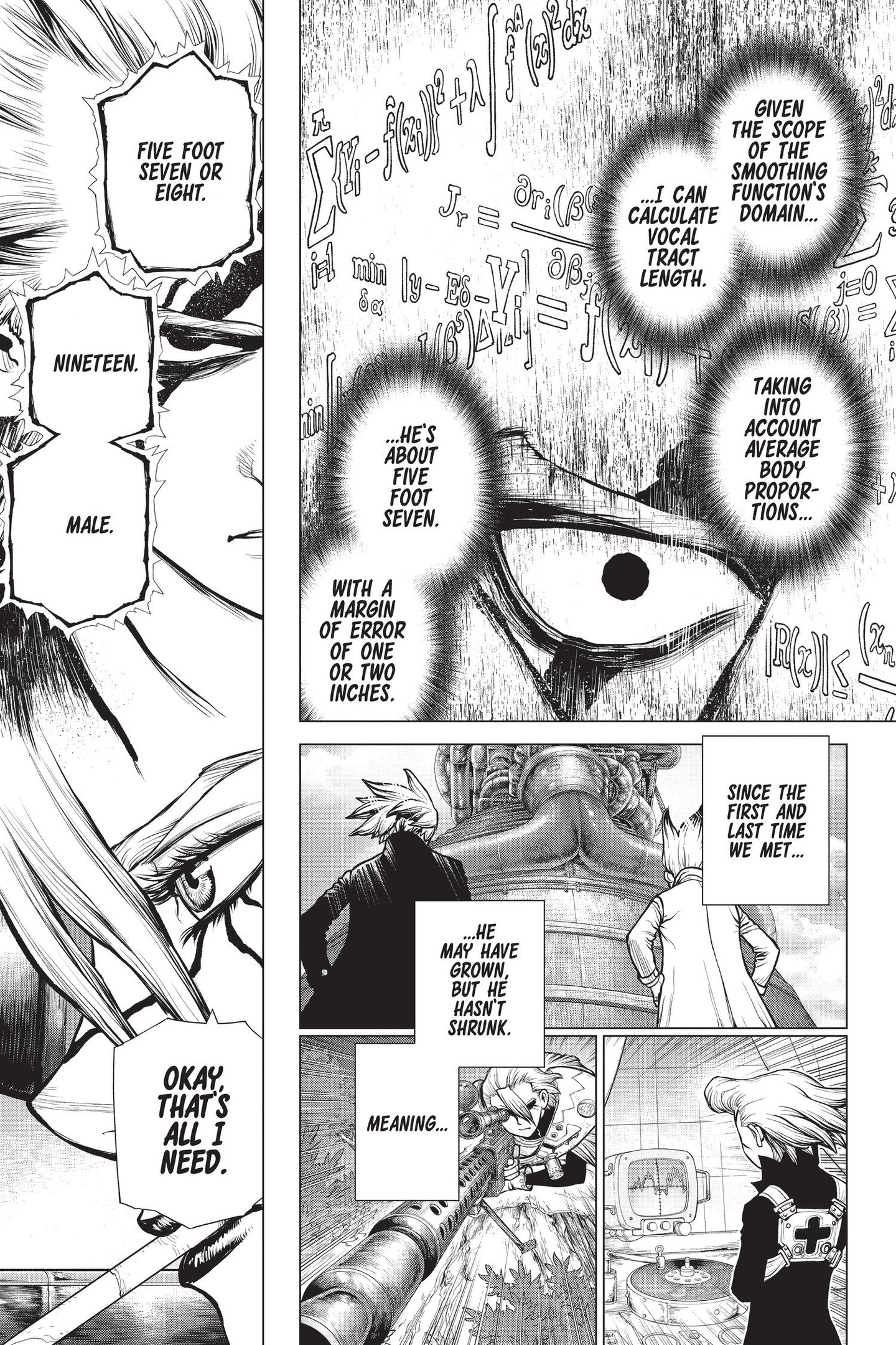 Dr. Stone Chapter 159 Page 5
