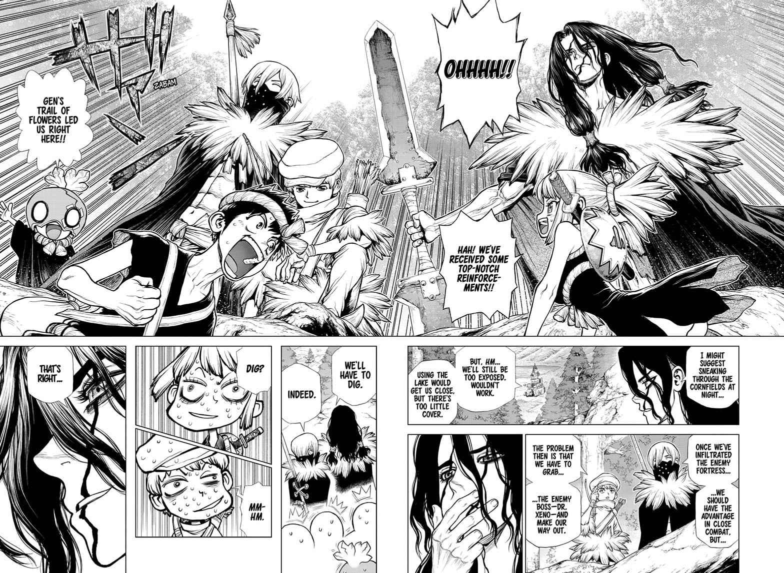 Dr. Stone Chapter 160 Page 12