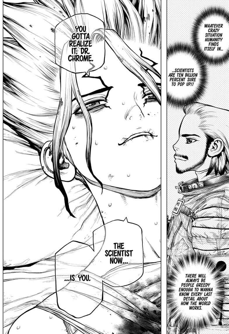 Dr. Stone Chapter 160 Page 16