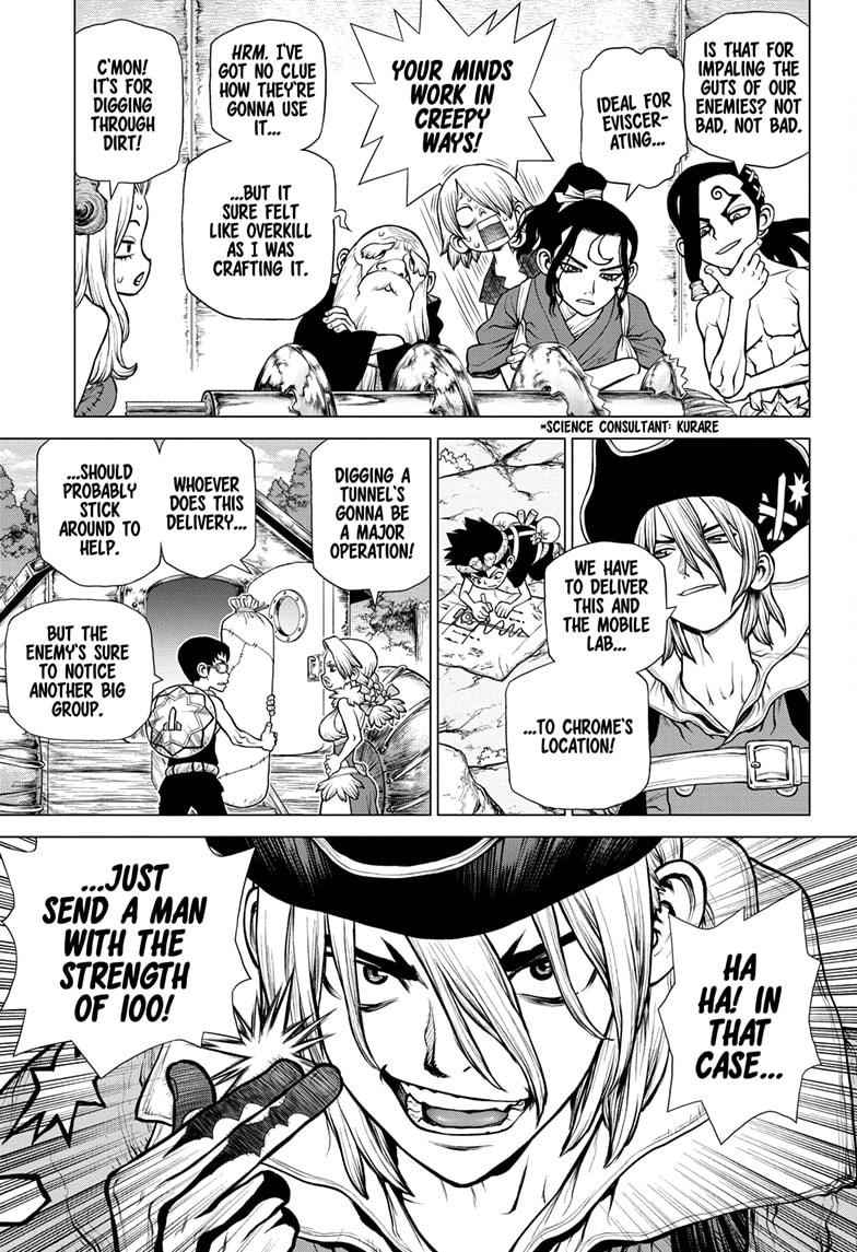 Dr. Stone Chapter 162 Page 5