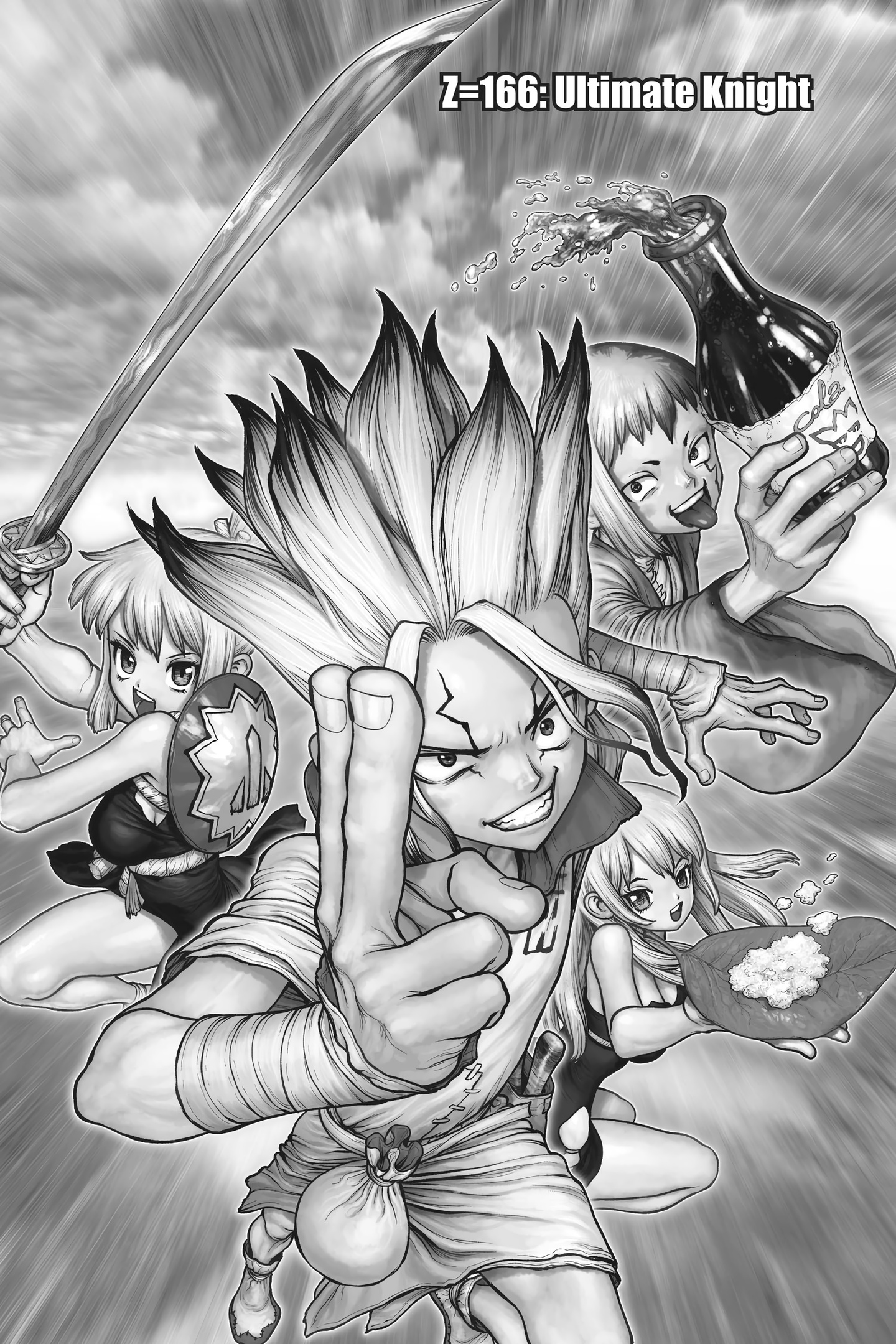 Dr. Stone Chapter 166 Page 1