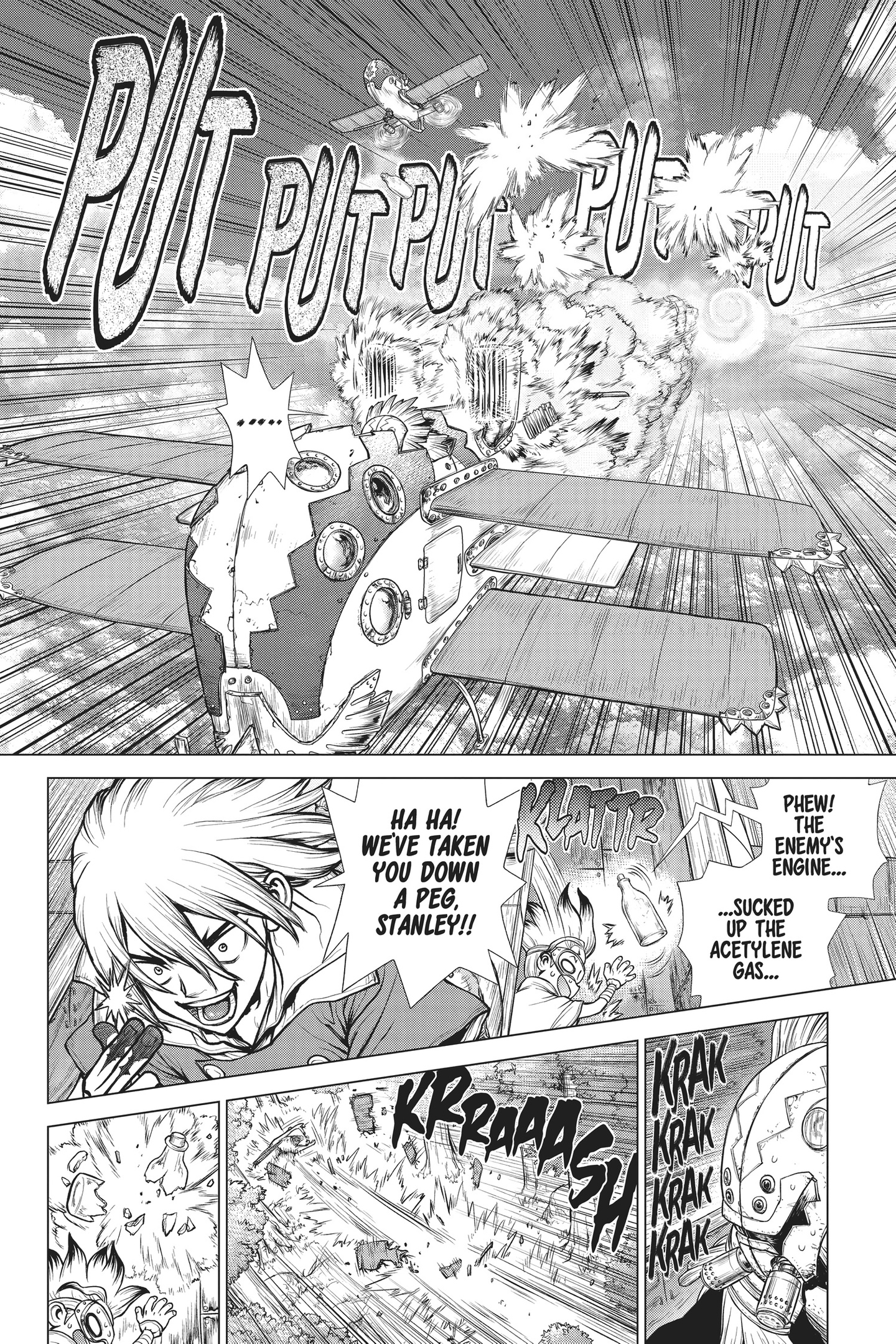 Dr. Stone Chapter 166 Page 8