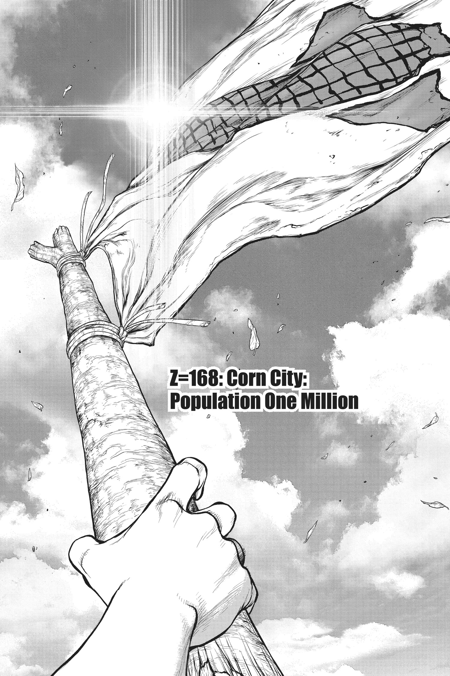 Dr. Stone Chapter 168 Page 1