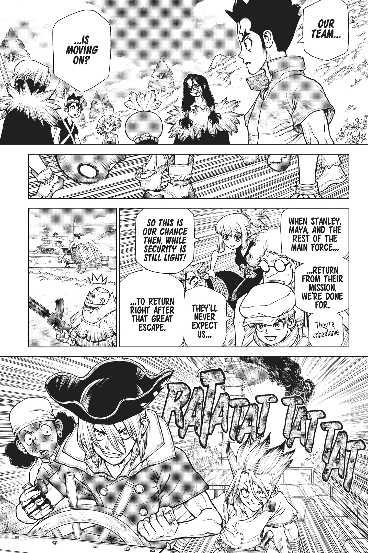 Dr. Stone Chapter 168 Page 12