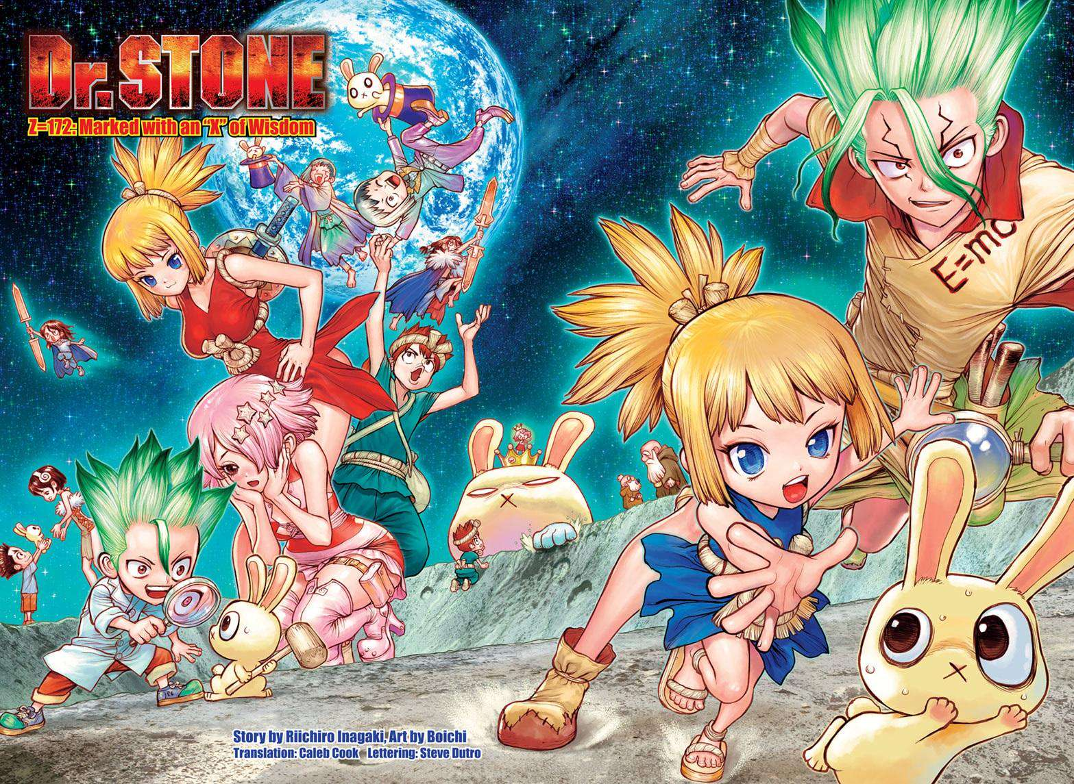 Dr. Stone Chapter 172 Page 2