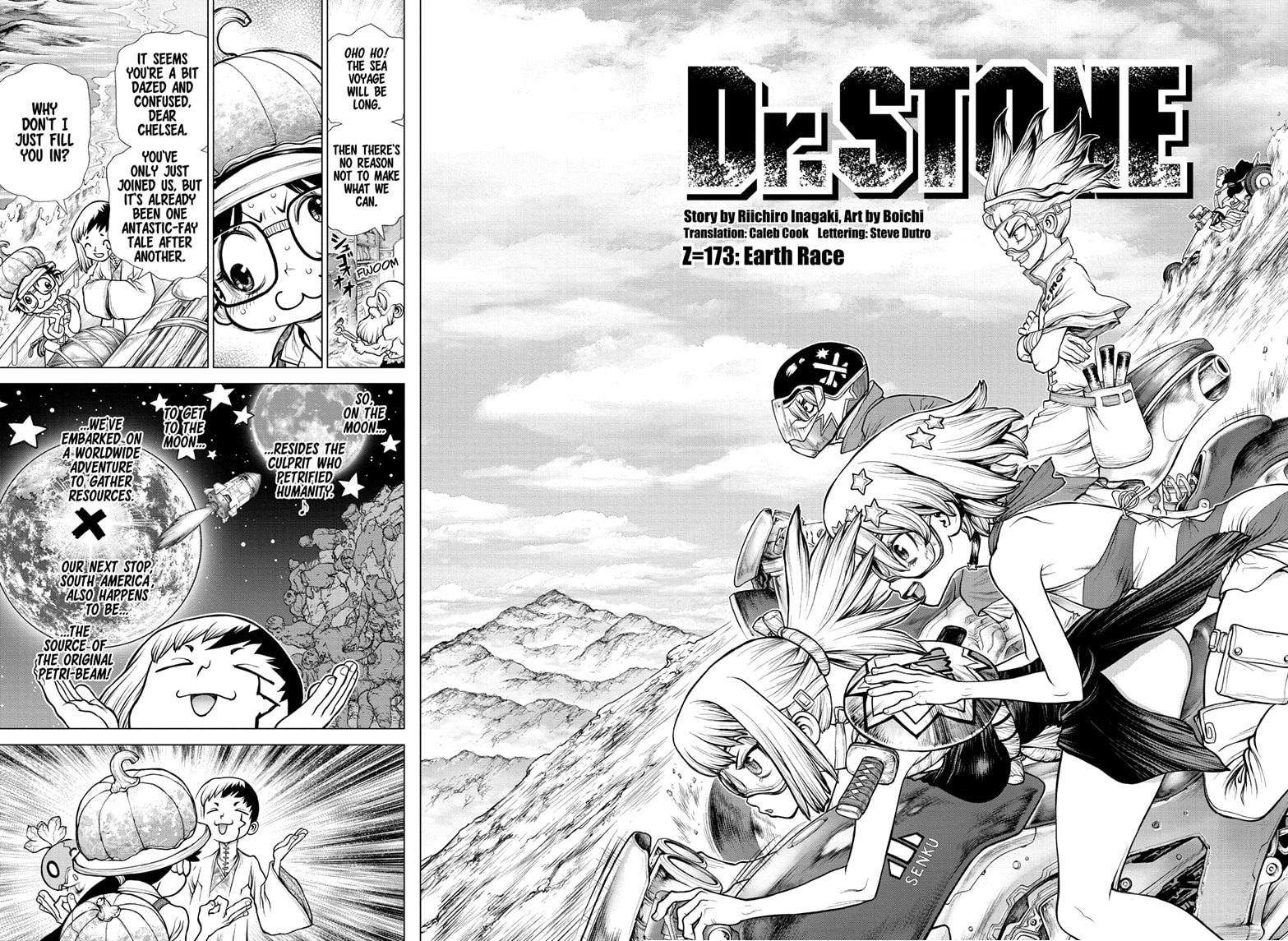 Dr. Stone Chapter 173 Page 2