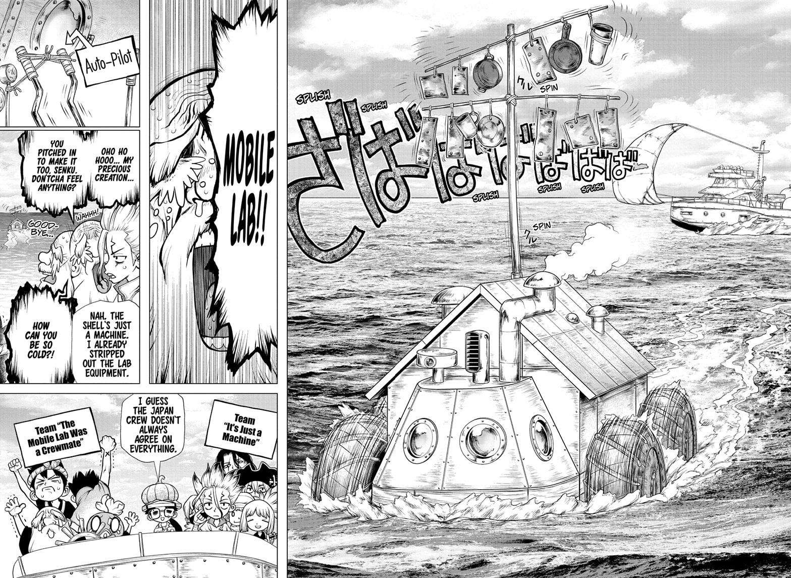 Dr. Stone Chapter 174 Page 8