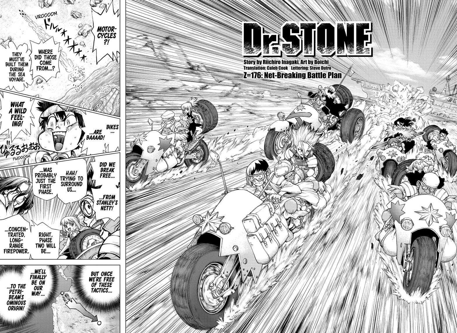 Dr. Stone Chapter 176 Page 2