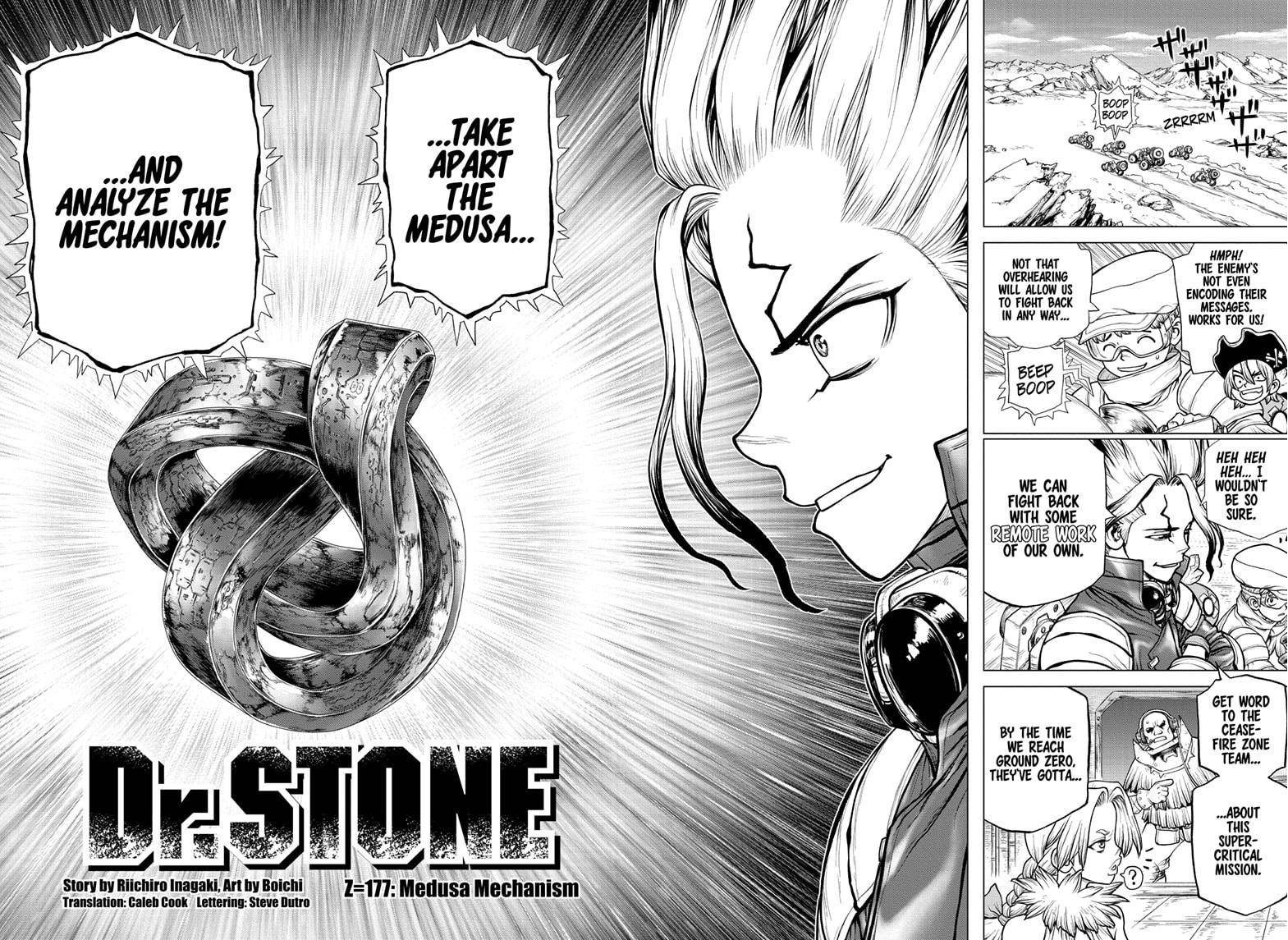 Dr. Stone Chapter 177 Page 2