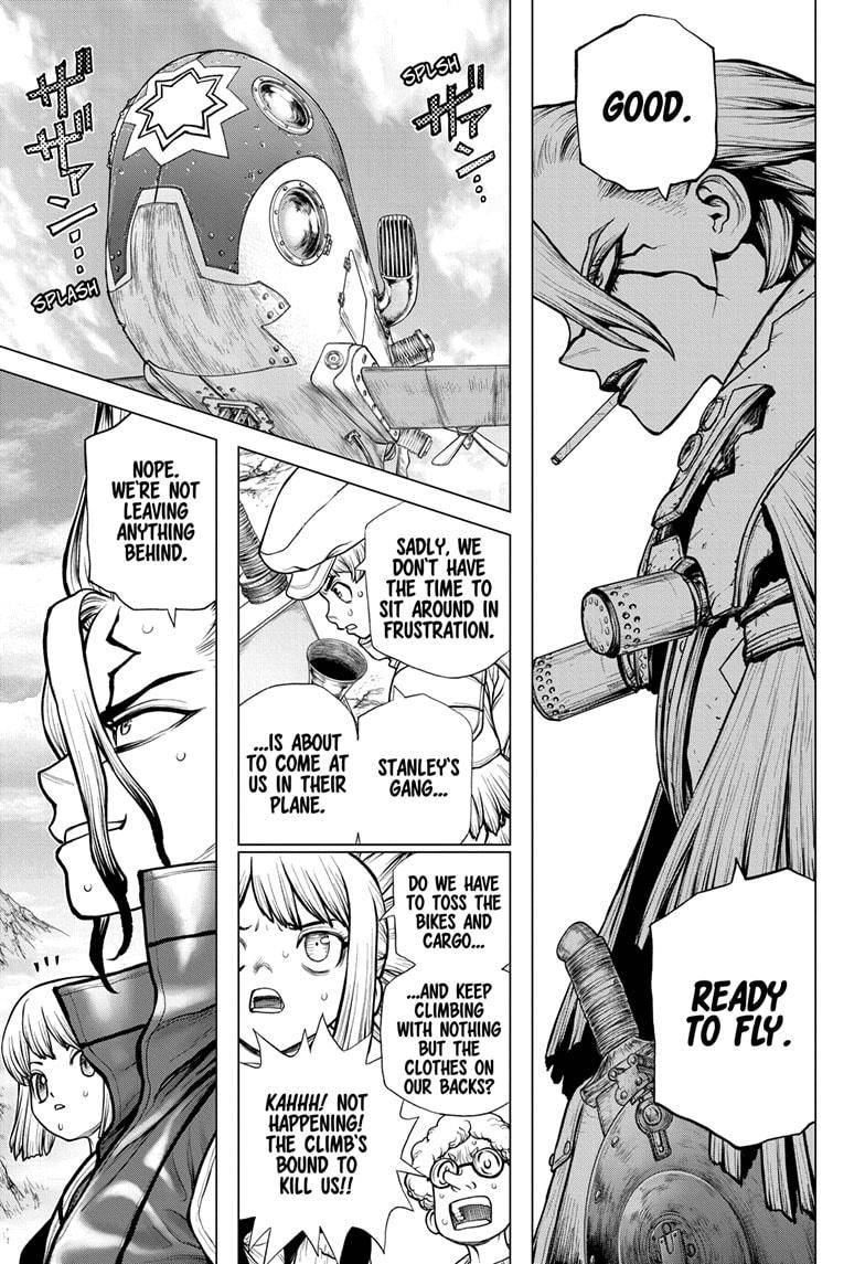 Dr. Stone Chapter 178 Page 19