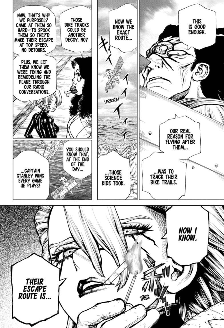 Dr. Stone Chapter 180 Page 2