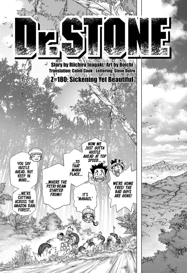 Dr. Stone Chapter 180 Page 3
