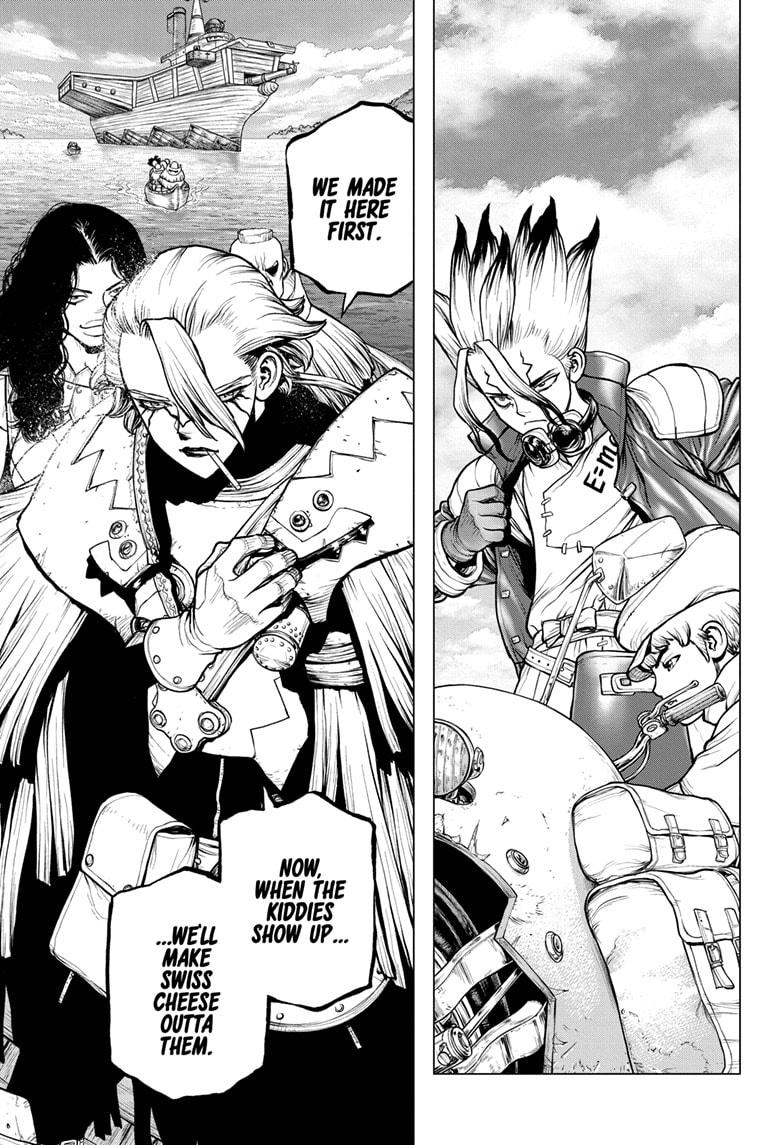 Dr. Stone Chapter 183 Page 15