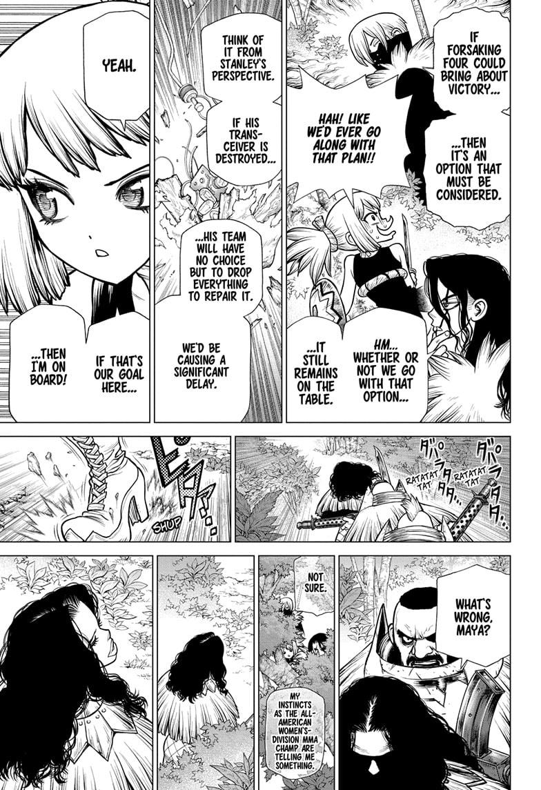 Dr. Stone Chapter 187 Page 12