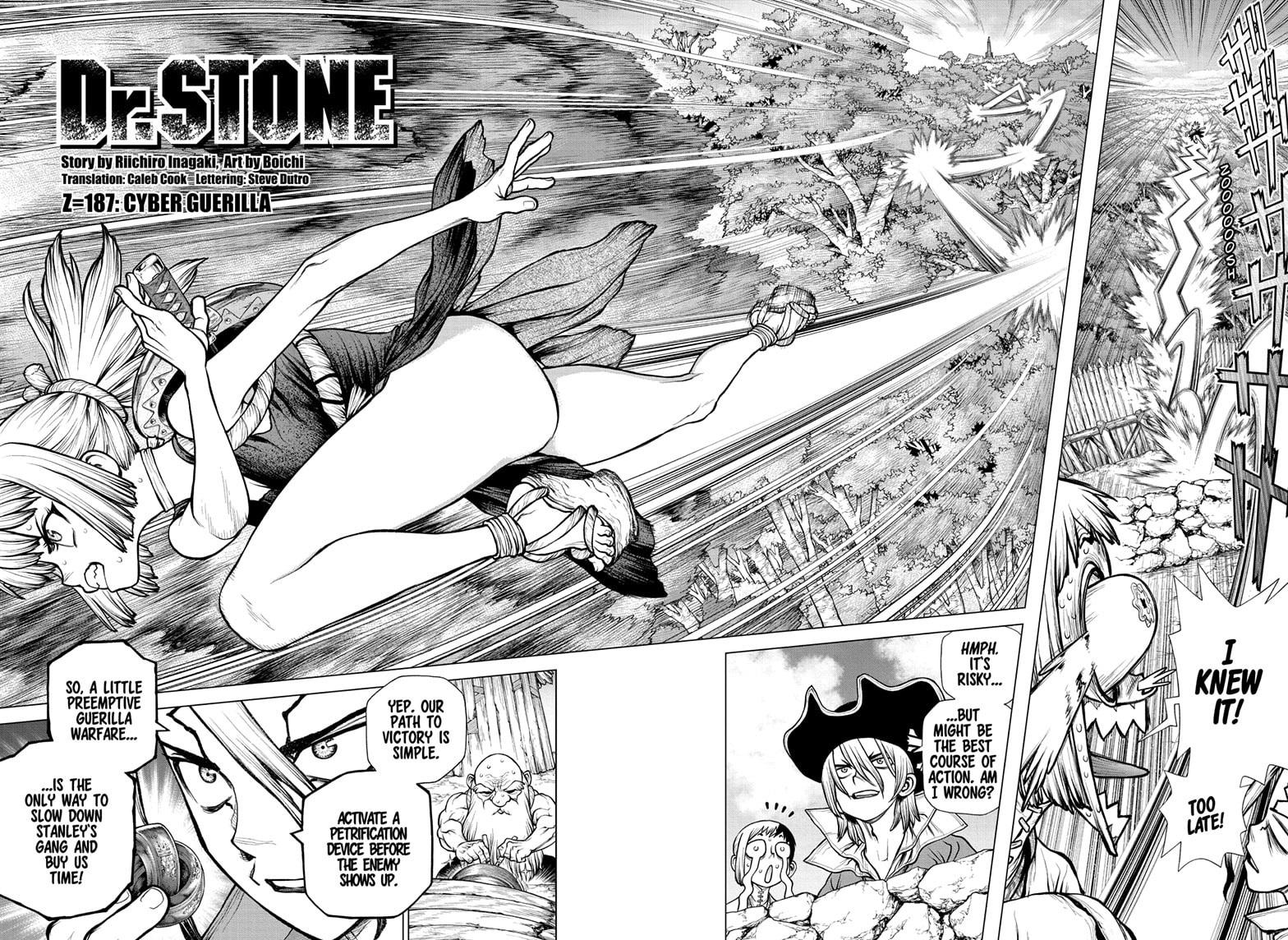 Dr. Stone Chapter 187 Page 2