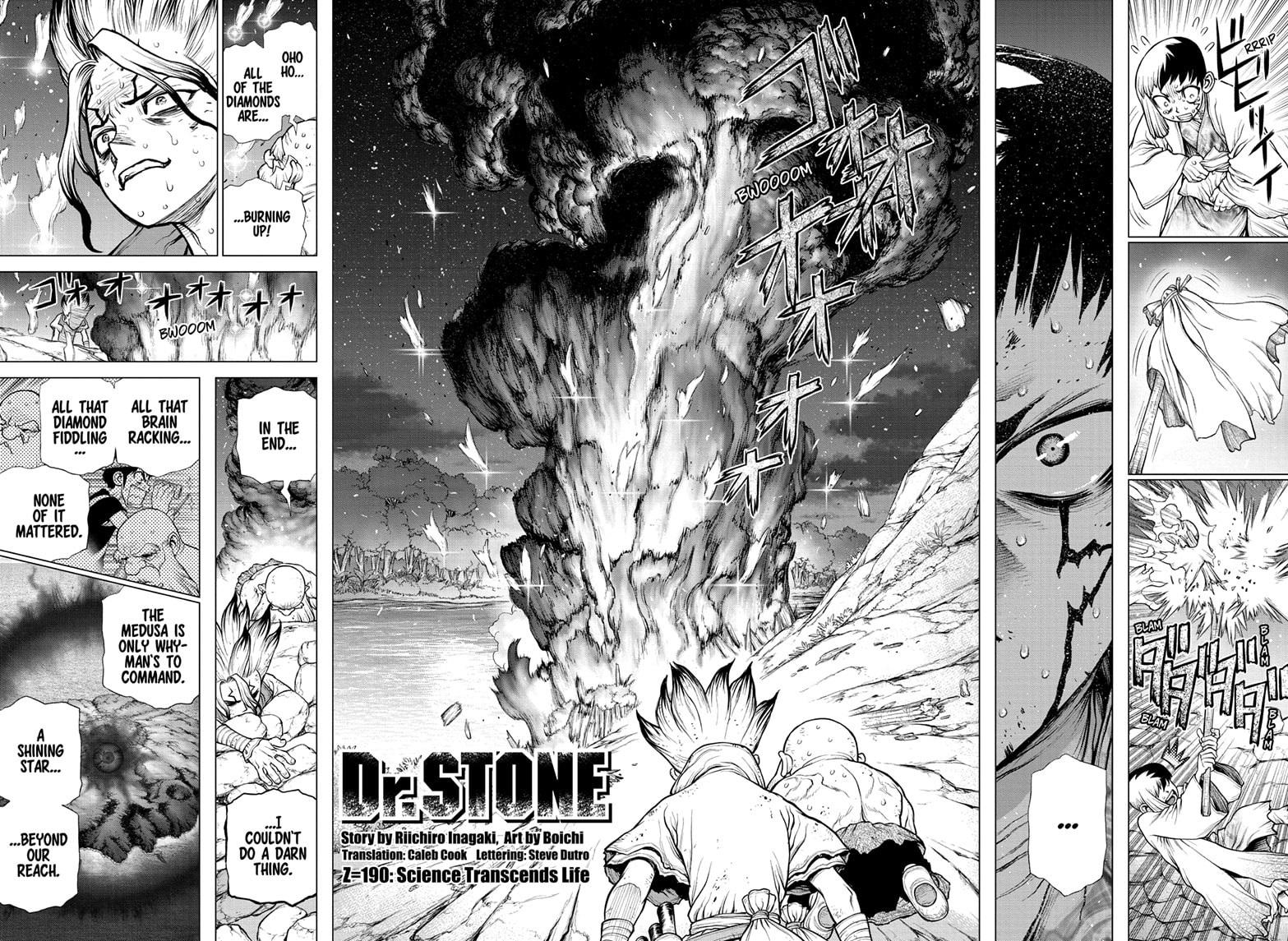 Dr. Stone Chapter 190 Page 2