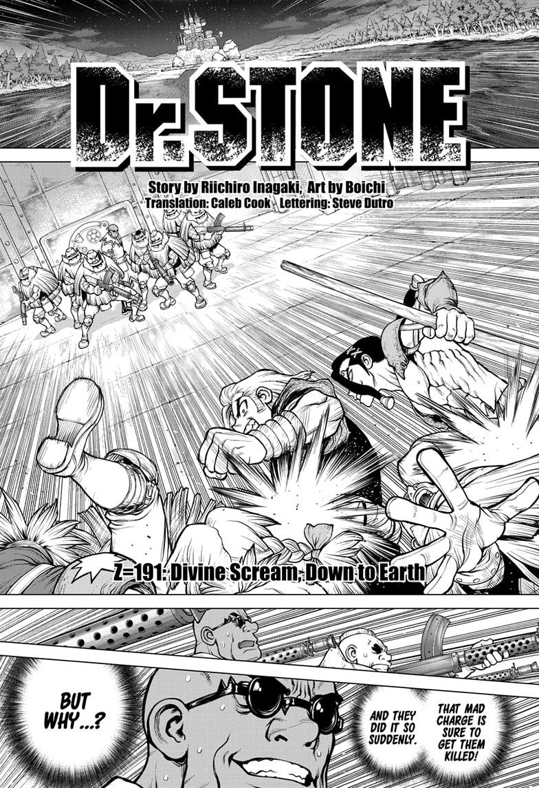 Dr. Stone Chapter 191 Page 1