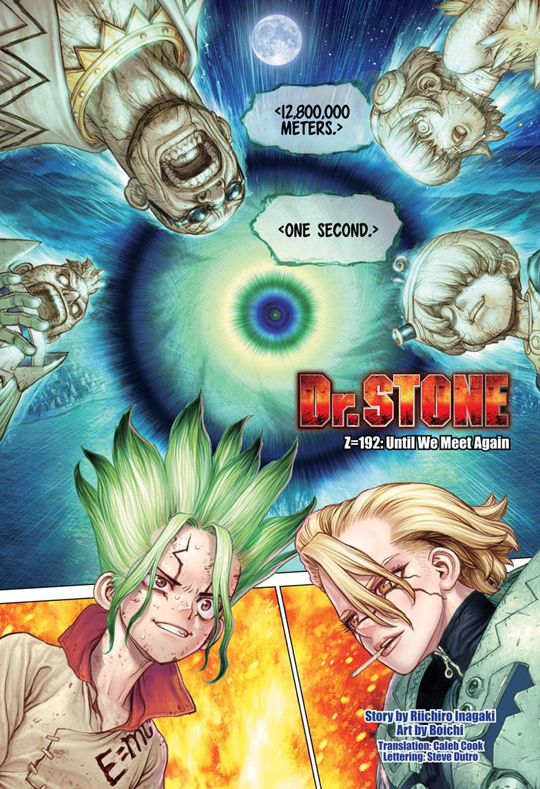 Dr. Stone Chapter 192 Page 1