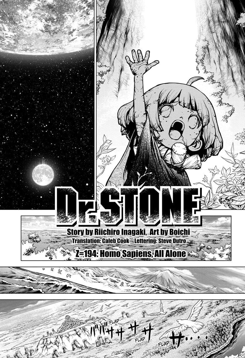 Dr. Stone Chapter 194 Page 1