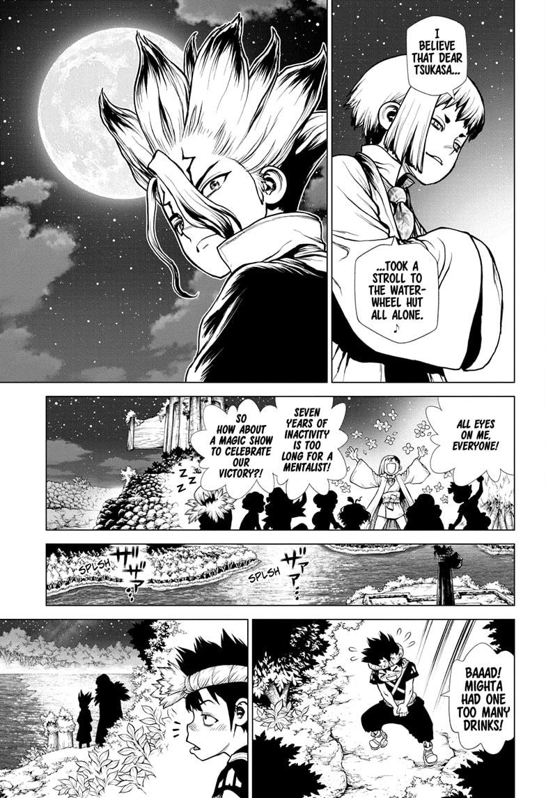 Dr. Stone Chapter 197 Page 13