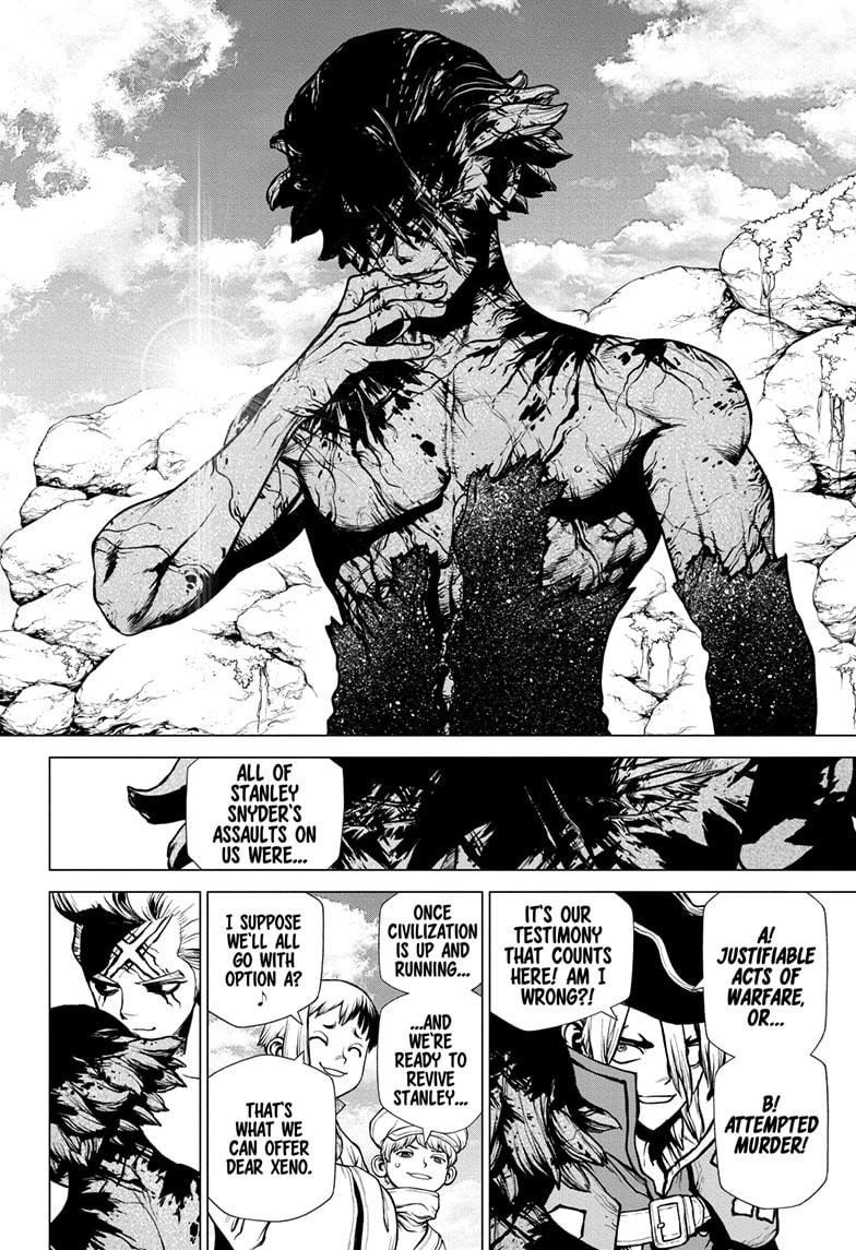 Dr. Stone Chapter 198 Page 12