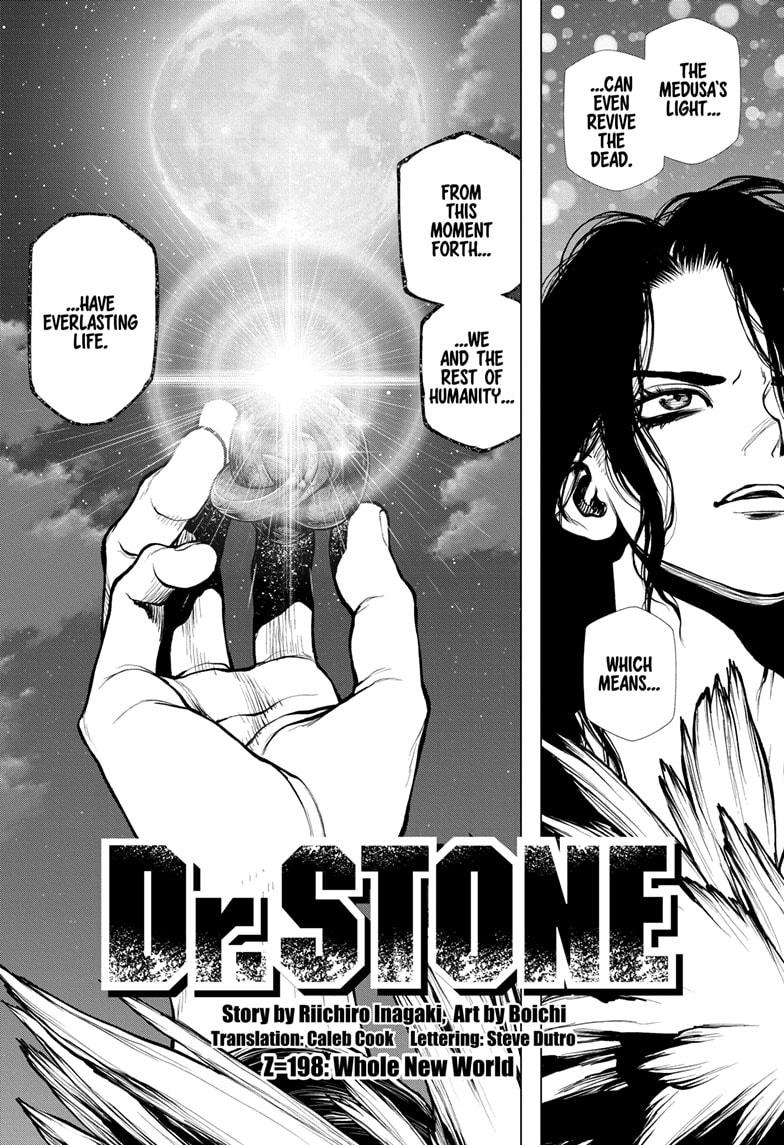 Dr. Stone Chapter 198 Page 2