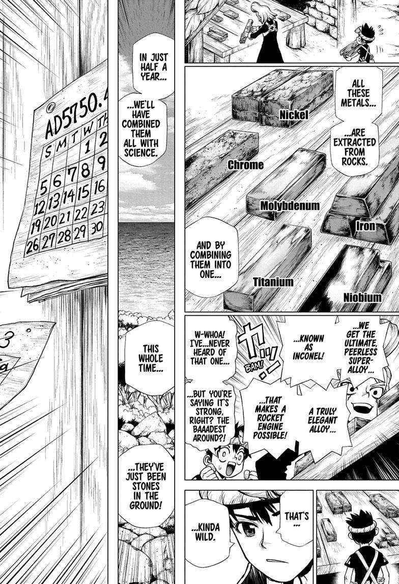 Dr. Stone Chapter 200 Page 6
