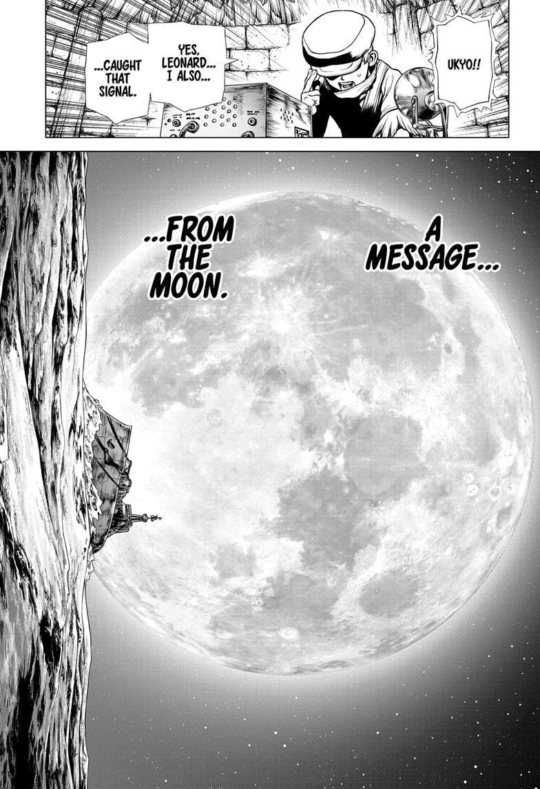 Dr. Stone Chapter 201 Page 8