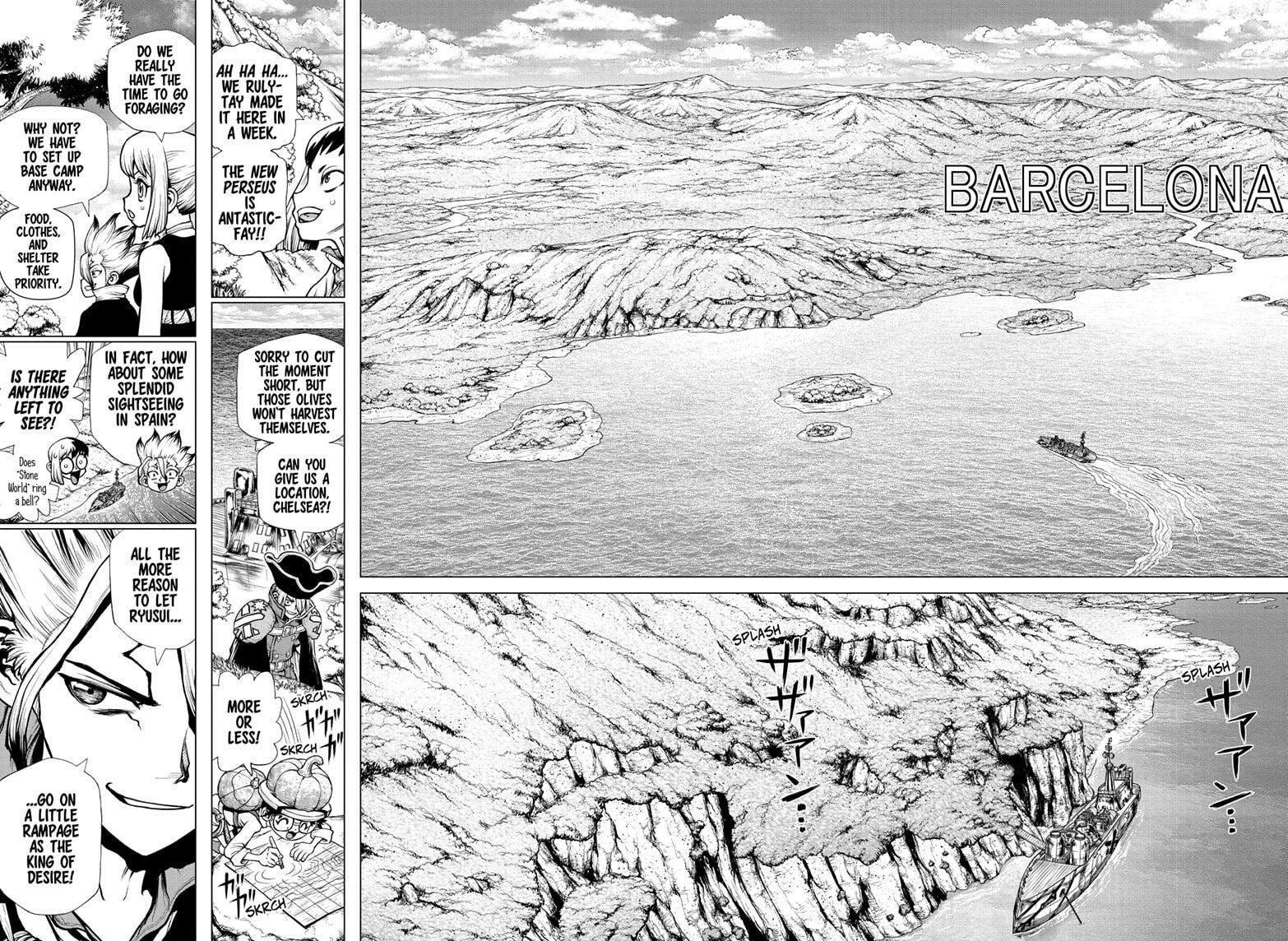 Dr. Stone Chapter 202 Page 4
